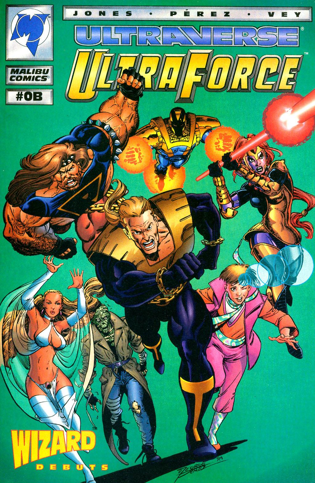 Read online UltraForce (1994) comic -  Issue #0 - 15