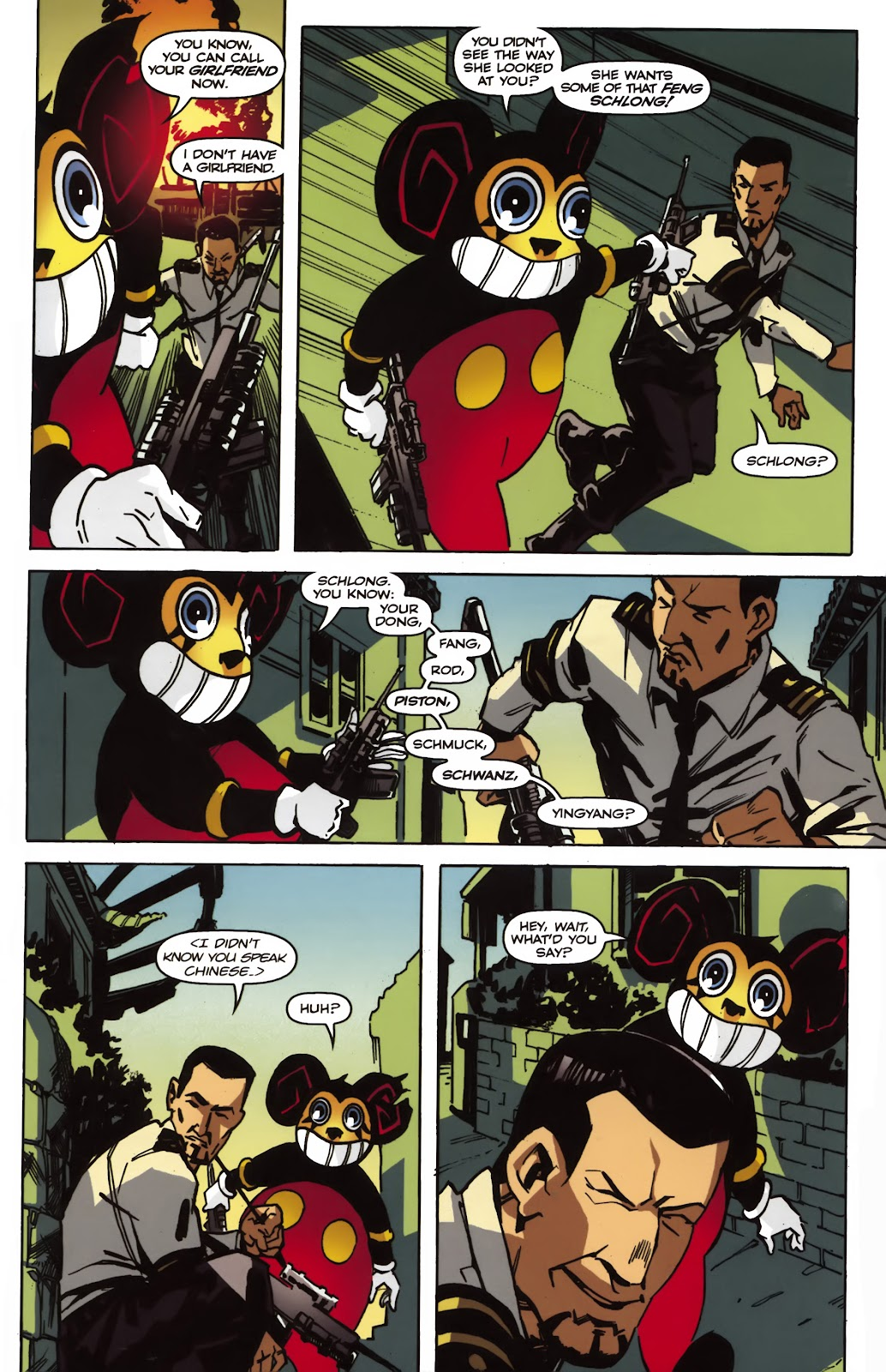 Read online Ricky Rouse Has A Gun comic -  Issue # TPB (Part 2) - 18