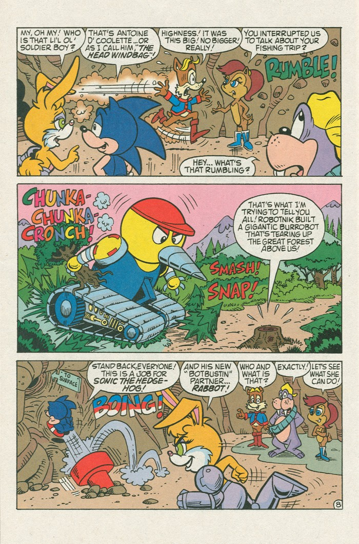 Read online Sonic Super Special comic -  Issue #3 - Sonic Firsts - 21