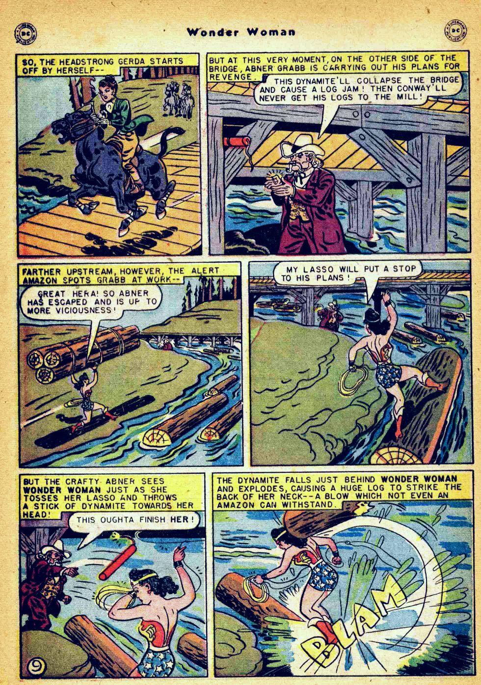 Read online Wonder Woman (1942) comic -  Issue #35 - 46