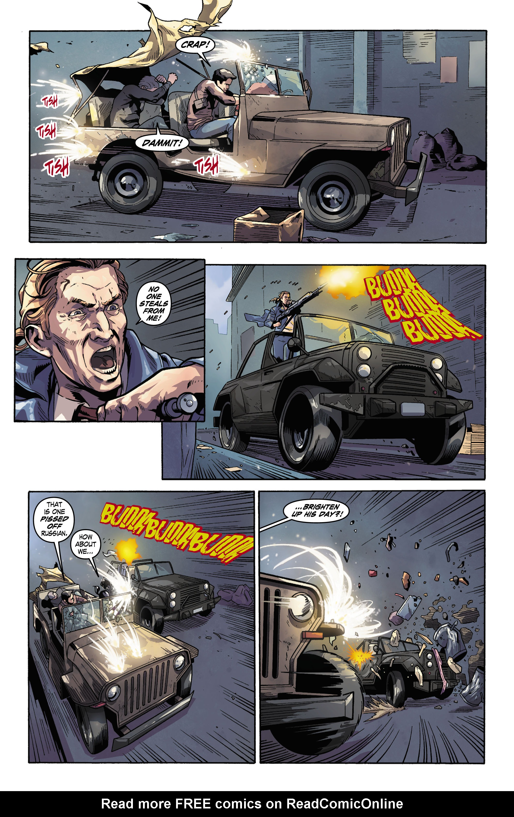 Read online Uncharted comic -  Issue #3 - 8
