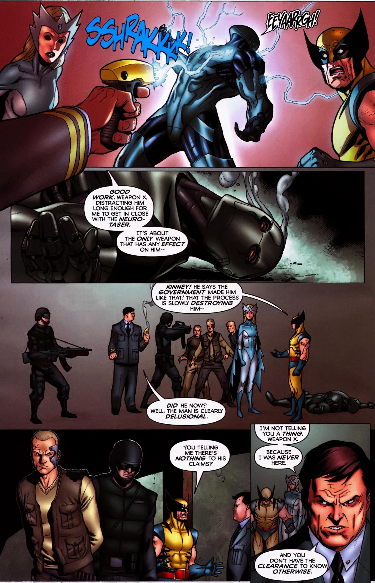 Read online Wolverine: First Class comic -  Issue #5 - 19