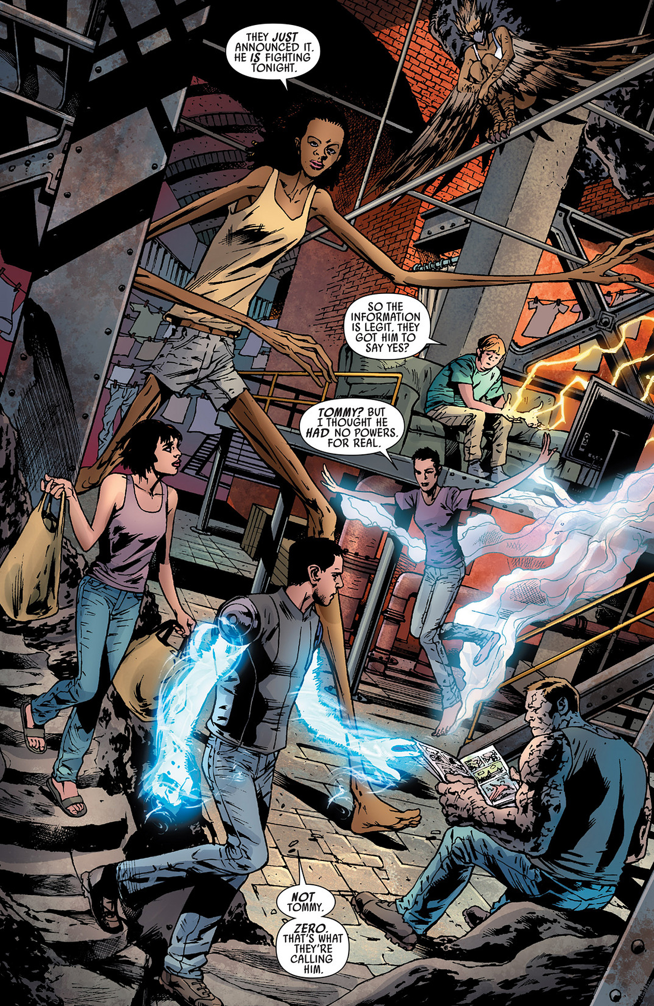 Read online America's Got Powers comic -  Issue #3 - 13