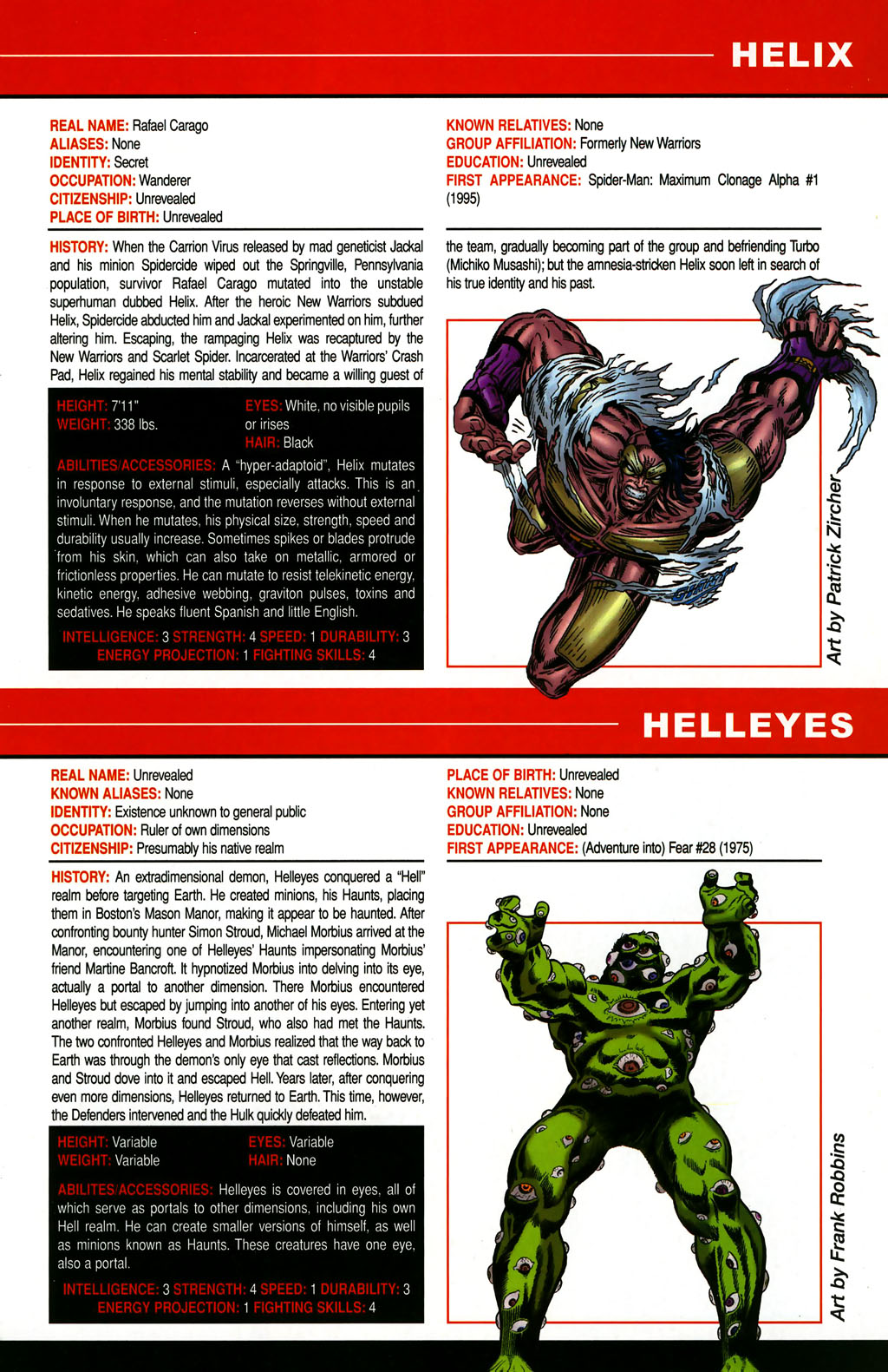 Read online All-New Official Handbook of the Marvel Universe A to Z comic -  Issue #5 - 19