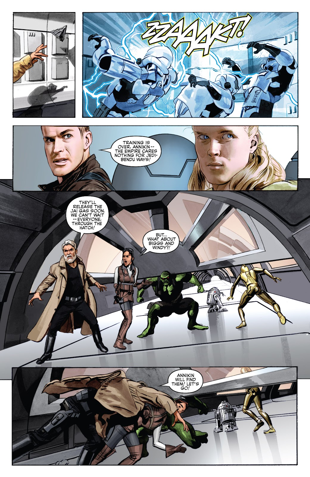 Read online Star Wars Legends: Infinities - Epic Collection comic -  Issue # TPB (Part 5) - 6