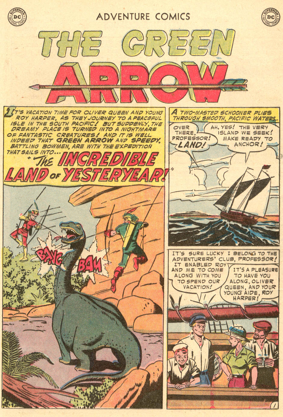 Read online Adventure Comics (1938) comic -  Issue #208 - 25