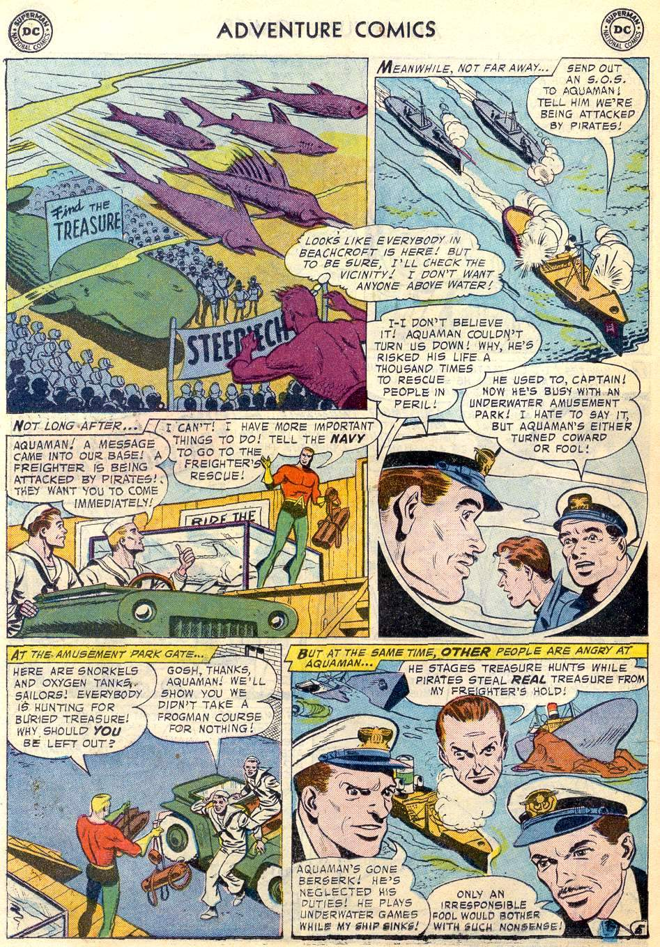 Read online Adventure Comics (1938) comic -  Issue #246 - 22