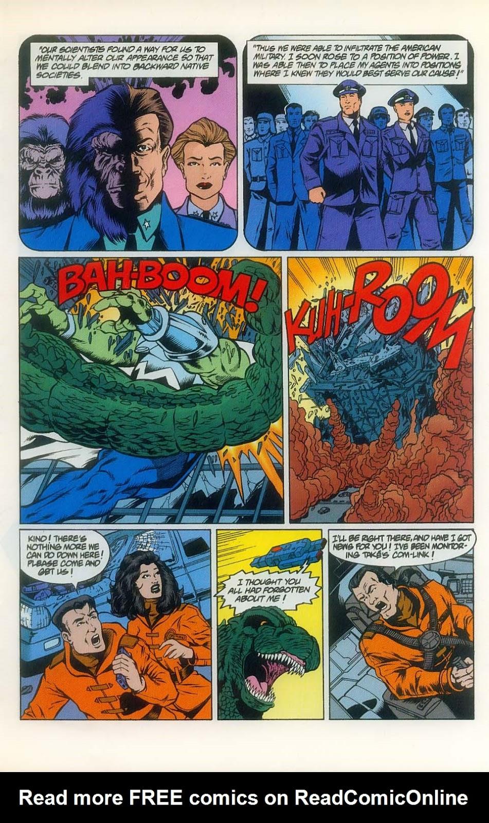 Godzilla (1995) Issue #8 #9 - English 7