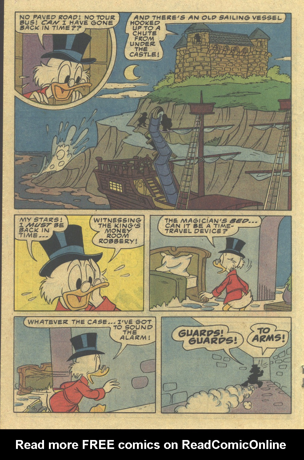 Read online Uncle Scrooge (1953) comic -  Issue #197 - 18