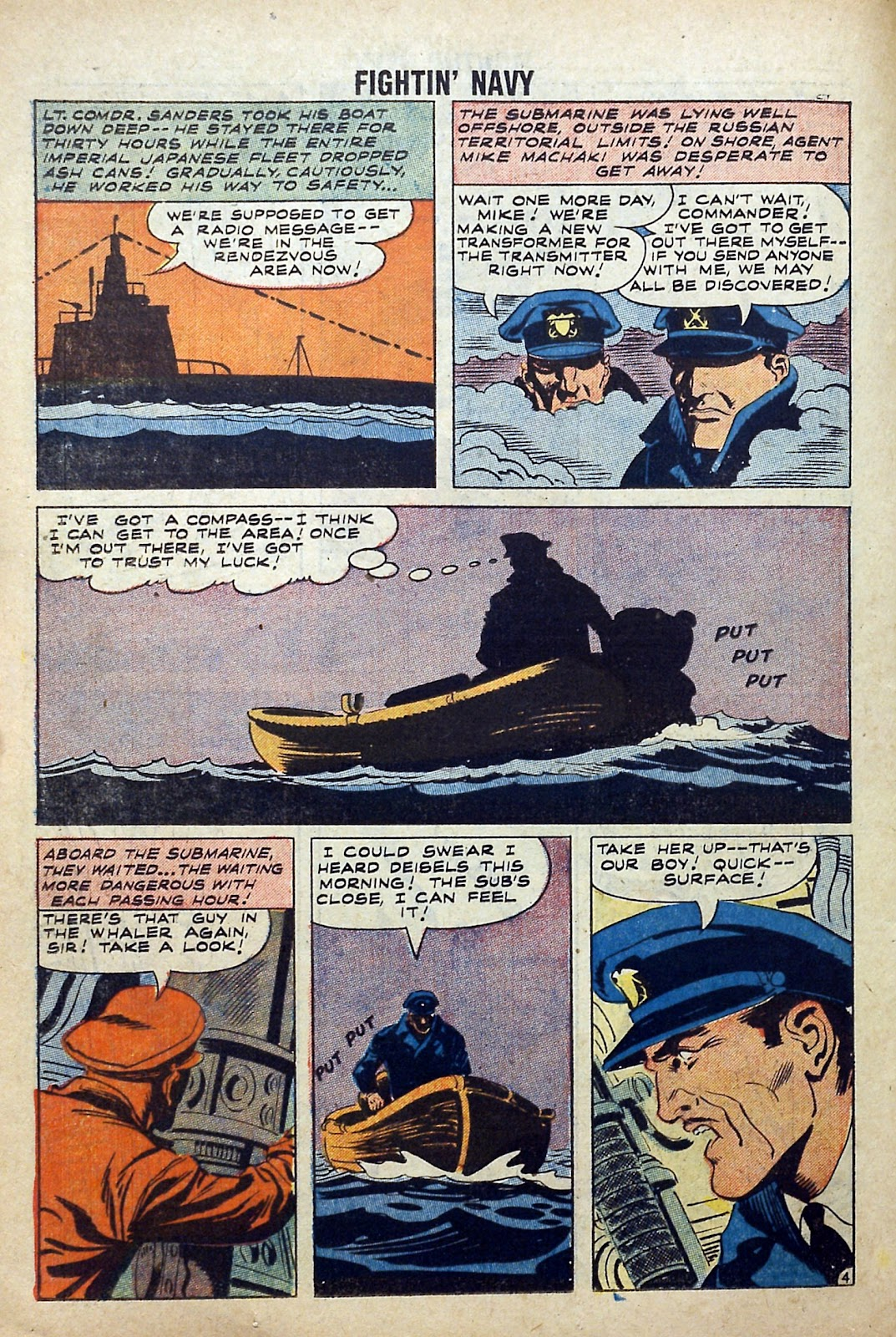 Read online Fightin' Navy comic -  Issue #84 - 26