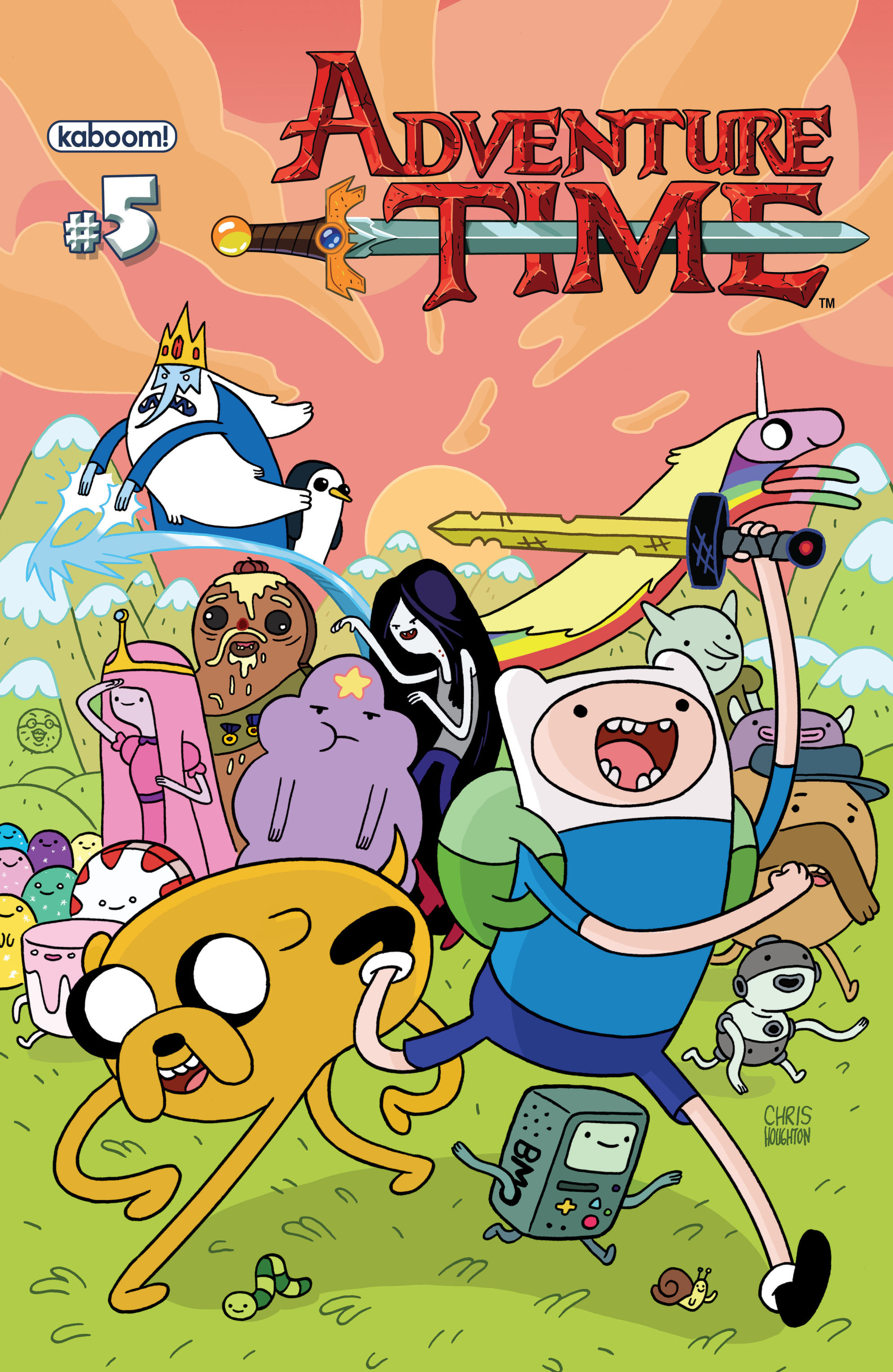 Read online Adventure Time comic -  Issue #5 - 1