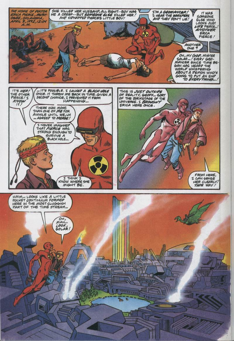 Read online Solar, Man of the Atom comic -  Issue #12 - 15