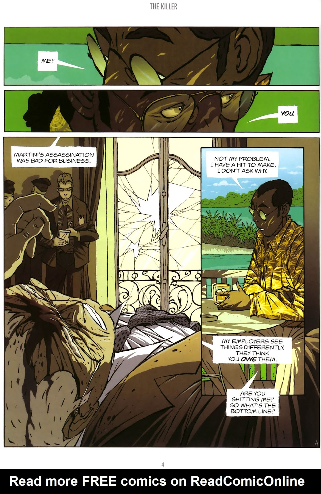 Read online The Killer comic -  Issue #5 - 6