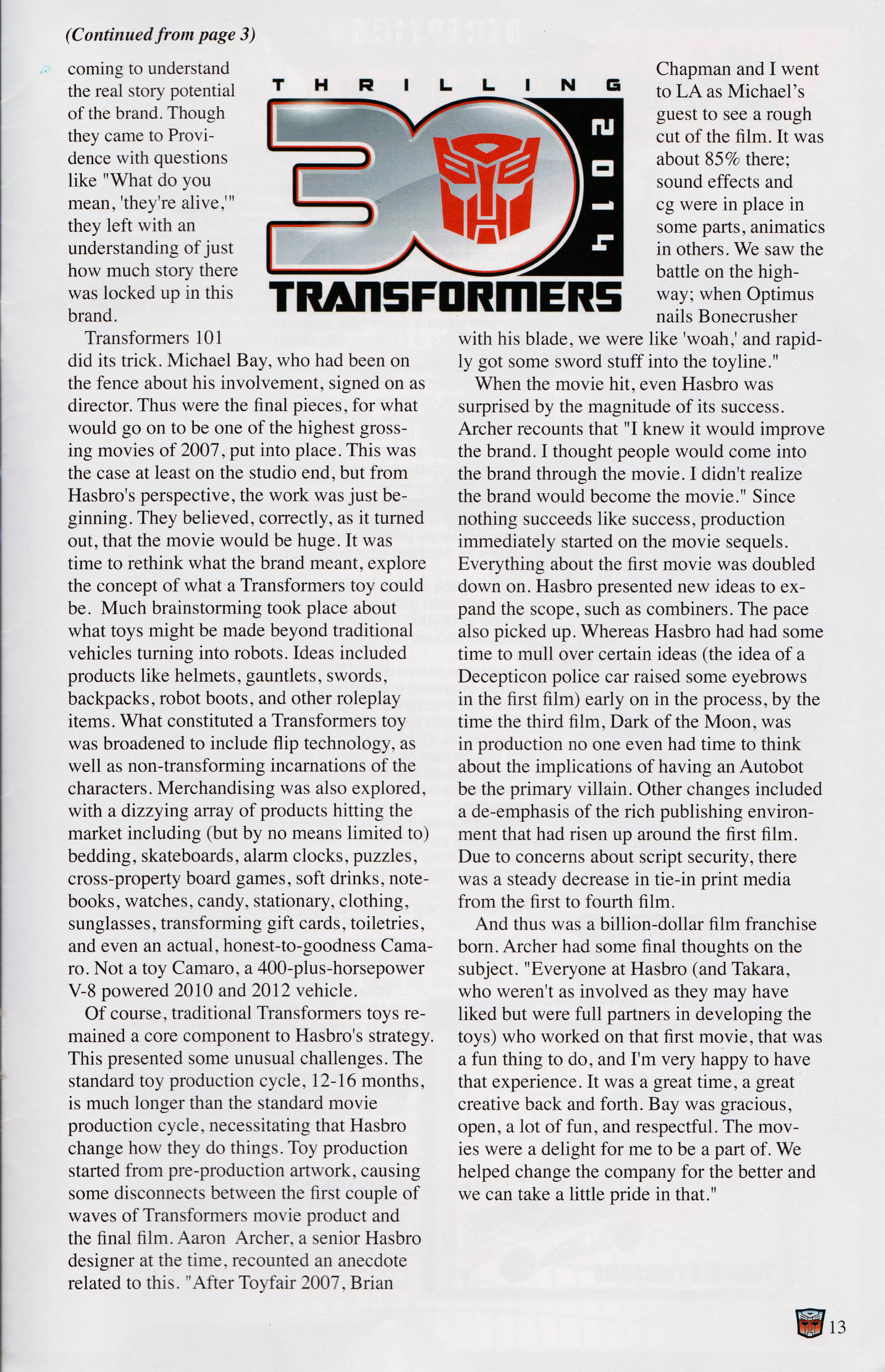 Read online Transformers: Collectors' Club comic -  Issue #58 - 13