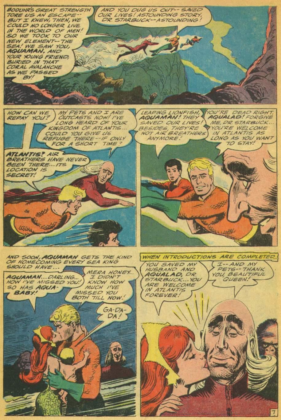 Read online Aquaman (1962) comic -  Issue #28 - 10