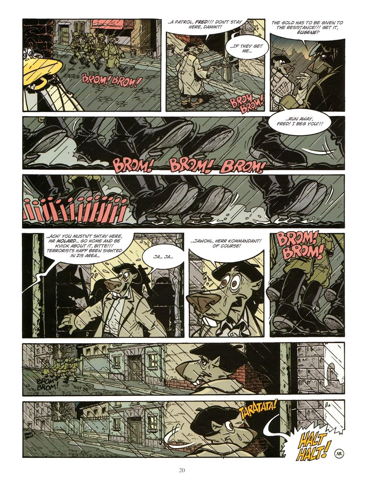 Une enquête de l'inspecteur Canardo issue 11 - Page 21