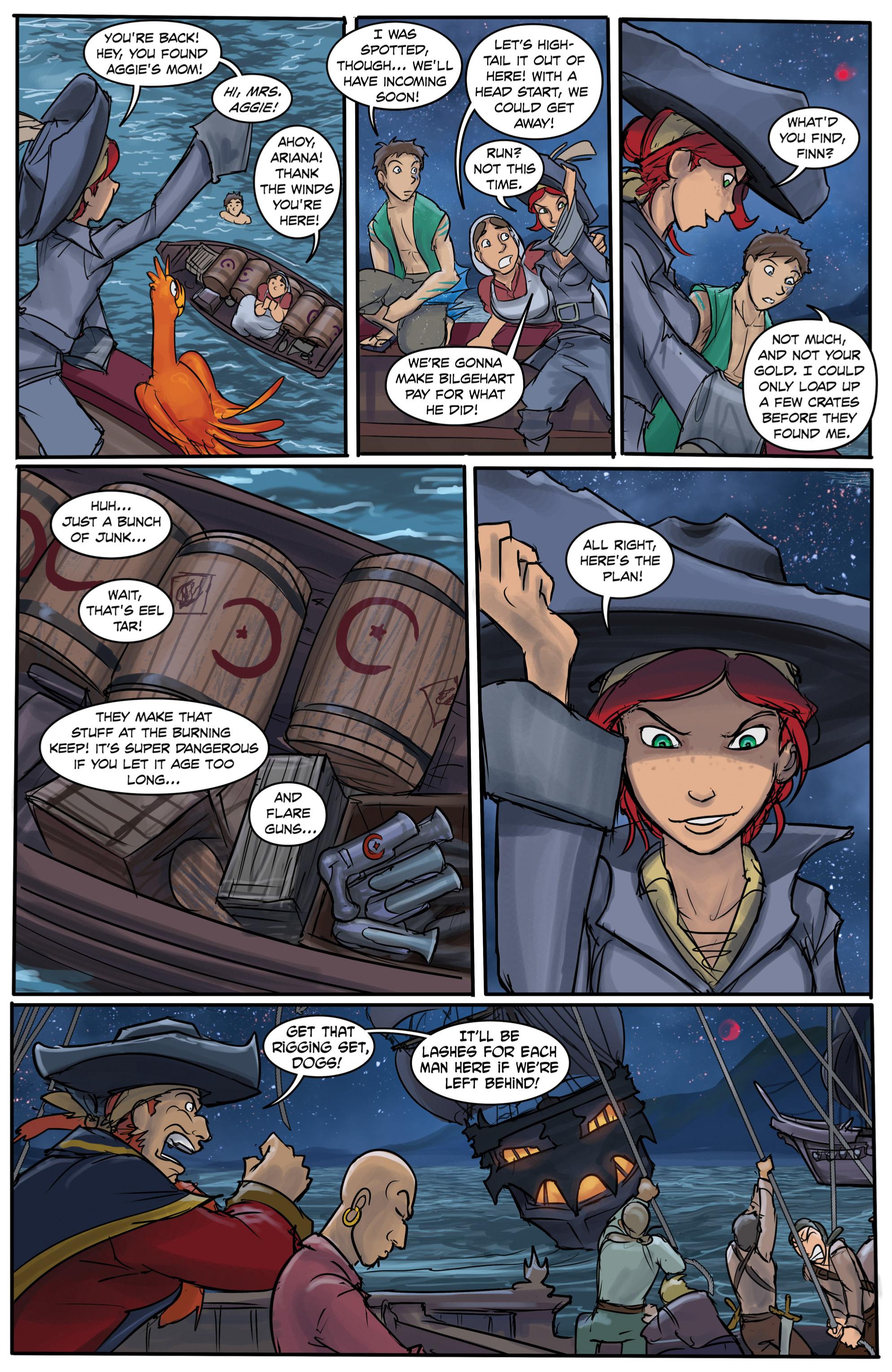 Read online Anne Bonnie comic -  Issue #6 - 10