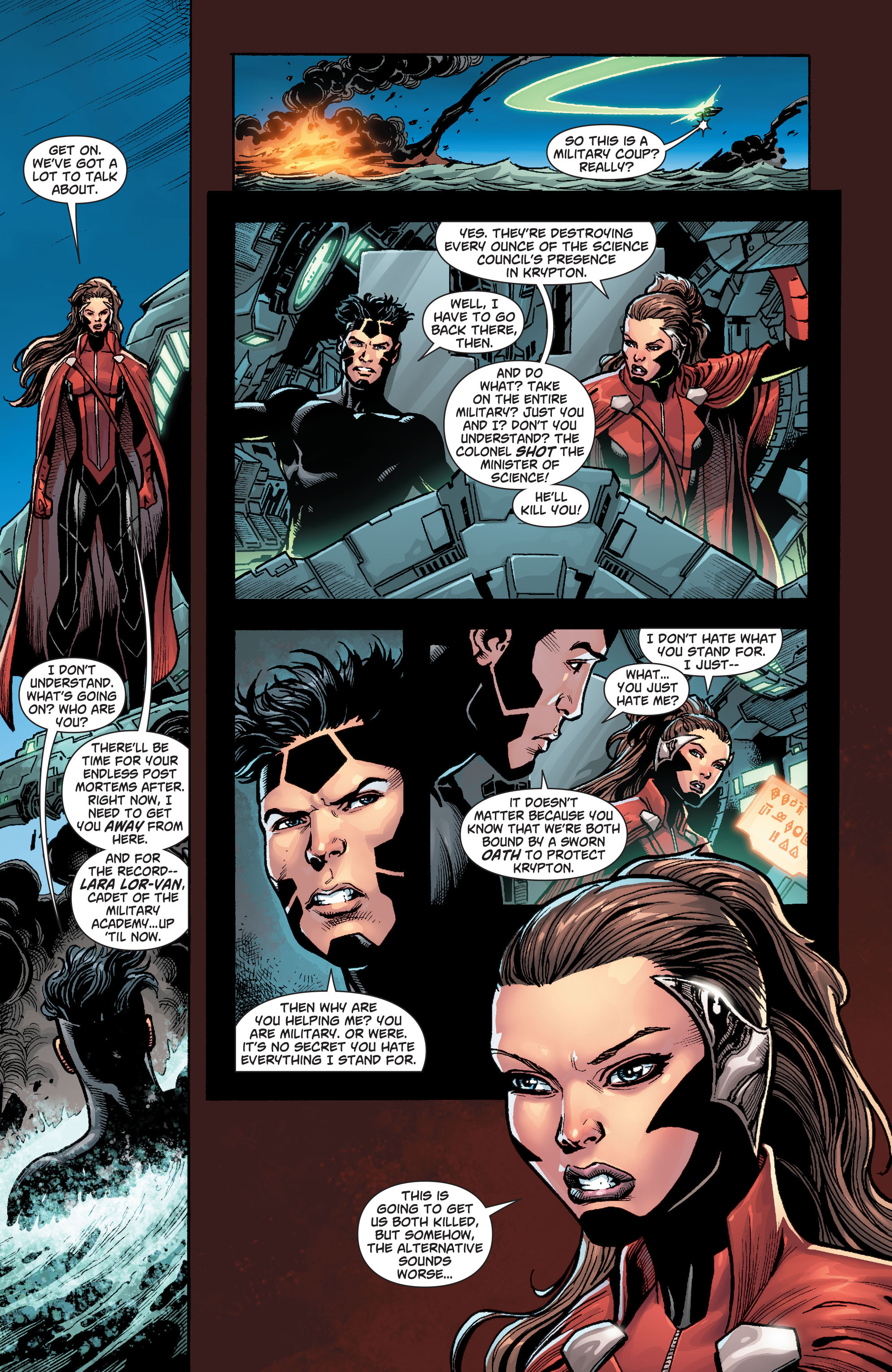 Read online Action Comics (2011) comic -  Issue #22 - 24