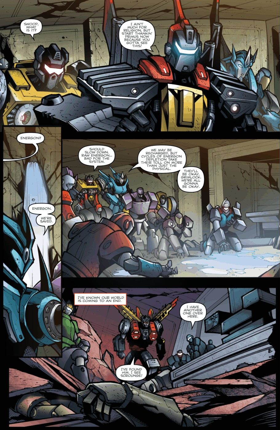 Read online Transformers Prime: Beast Hunters comic -  Issue #5 - 13