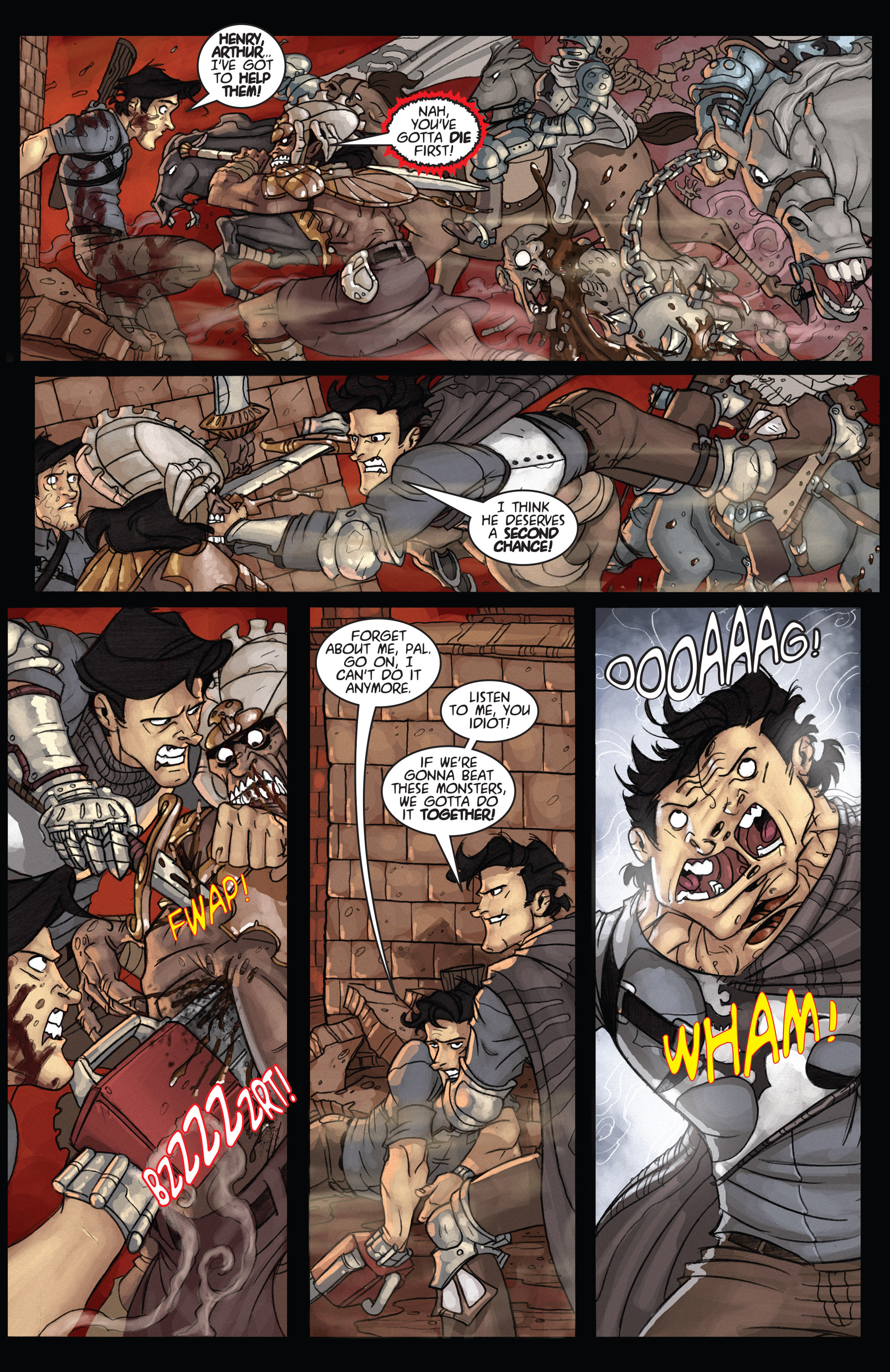 Read online Army of Darkness: Ashes 2 Ashes comic -  Issue #4 - 19