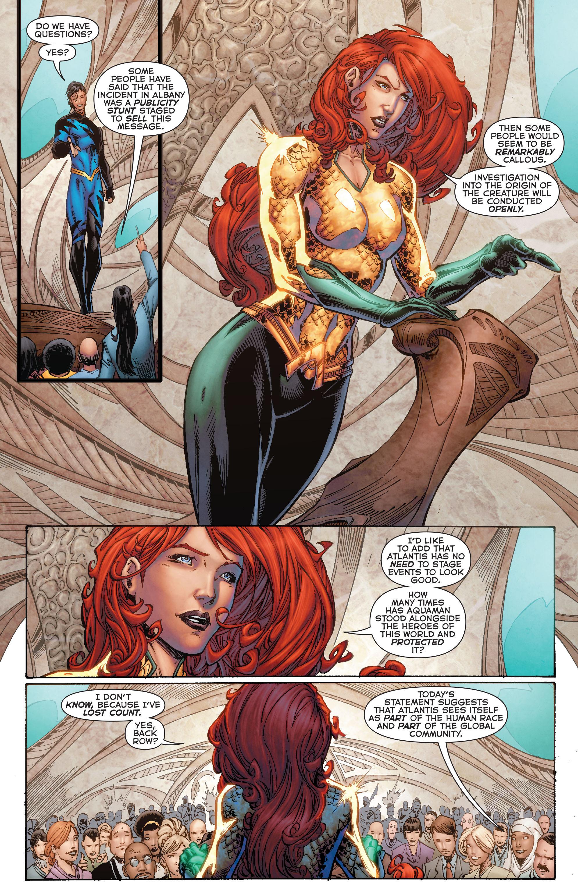 Read online Aquaman (2011) comic -  Issue #50 - 40