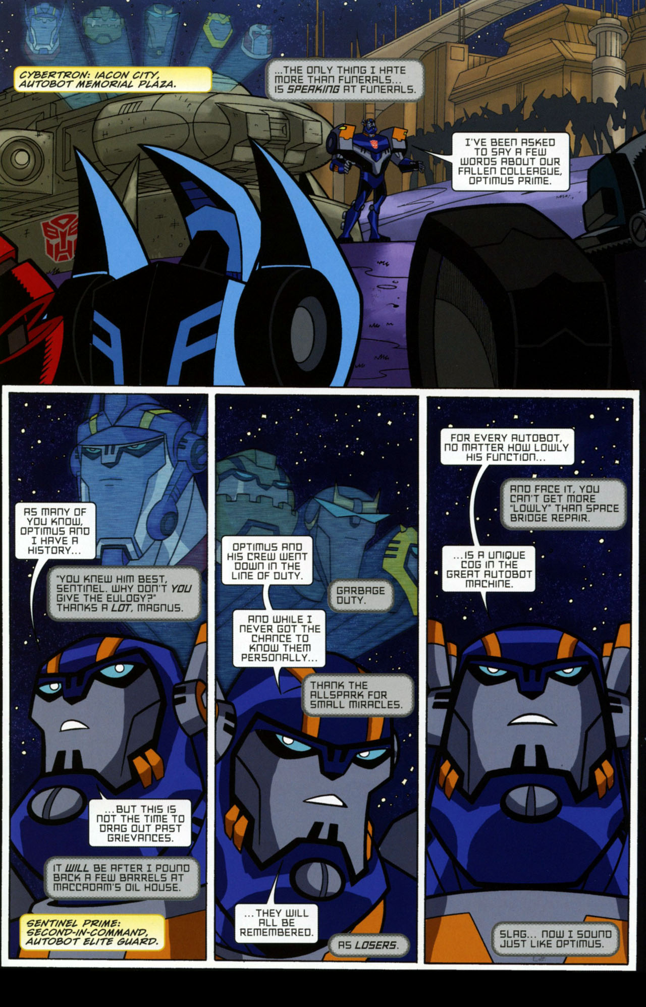 Read online Transformers Animated: The Arrival comic -  Issue #1 - 9
