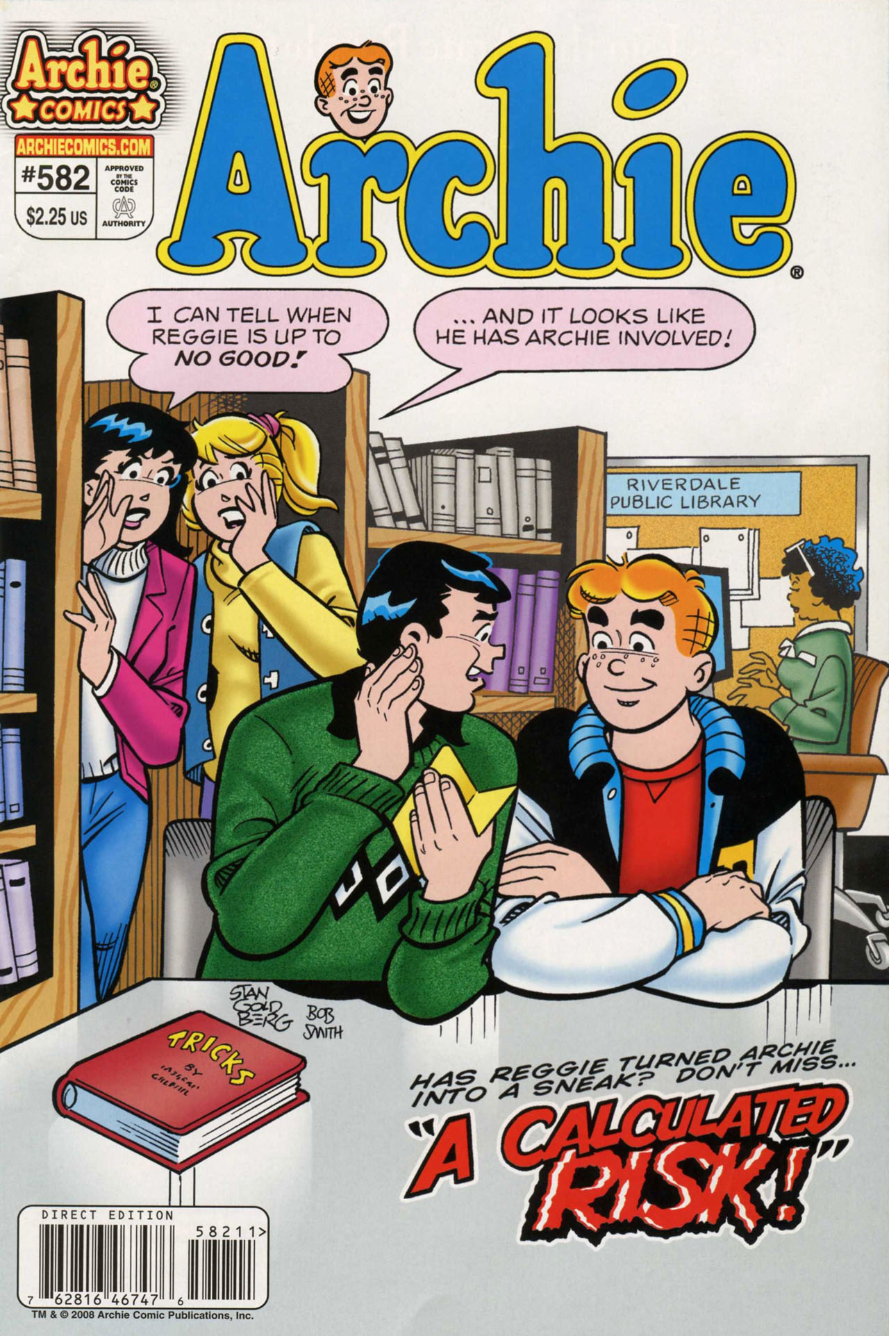 Read online Archie (1960) comic -  Issue #582 - 1