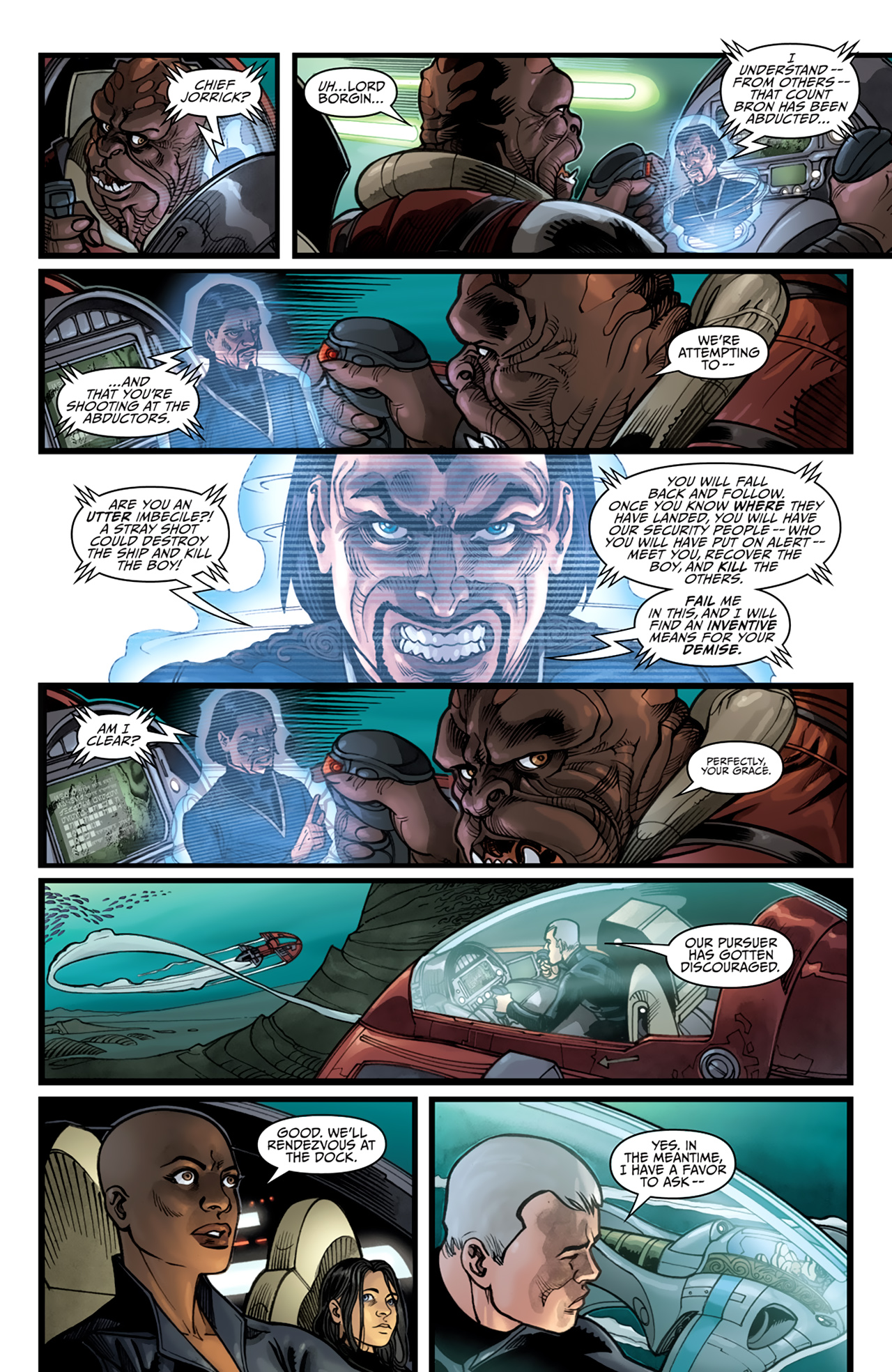 Read online Star Wars: Agent Of The Empire - Hard Targets comic -  Issue #4 - 22