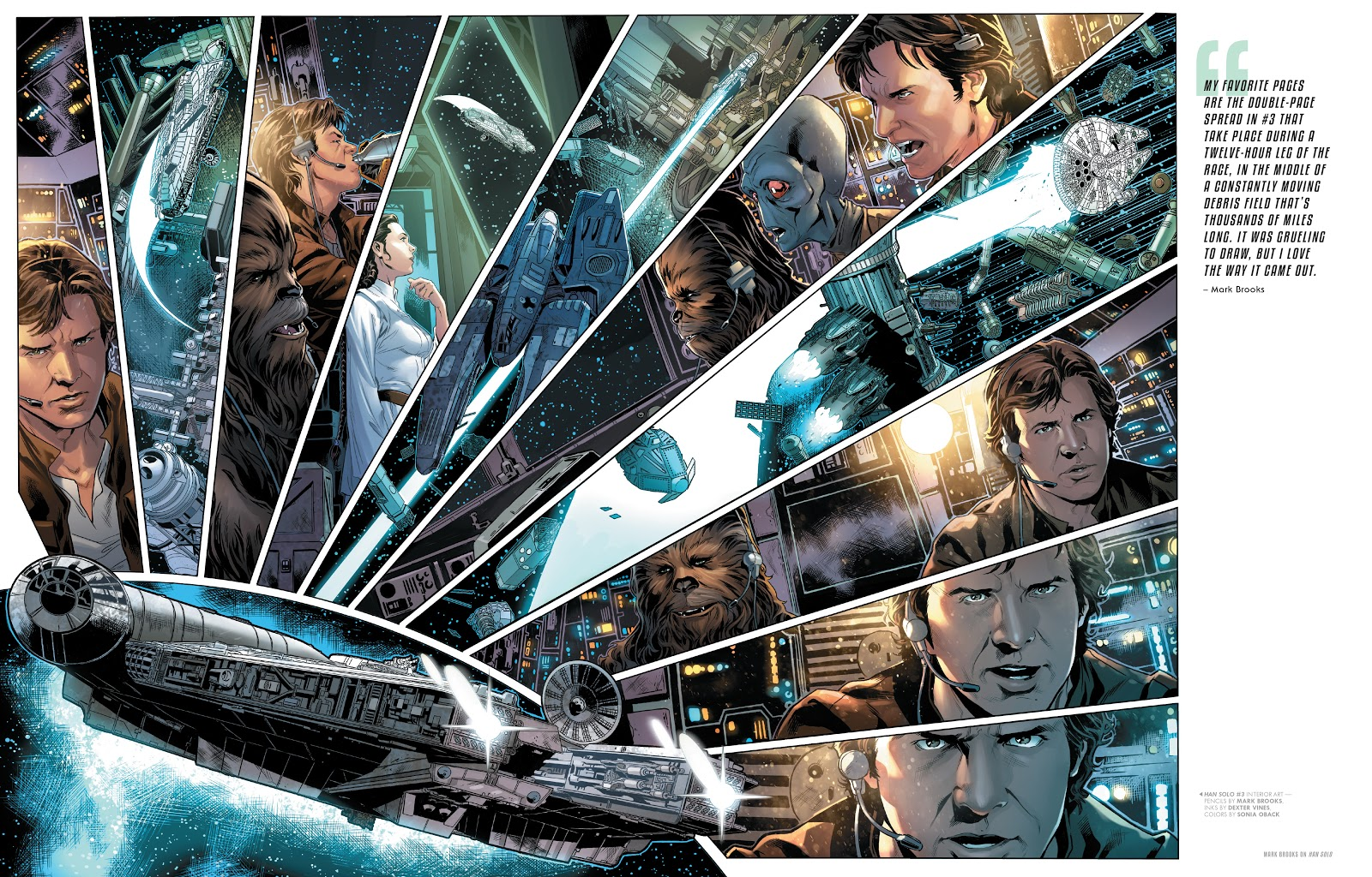 Read online The Marvel Art of Star Wars comic -  Issue # TPB (Part 2) - 43
