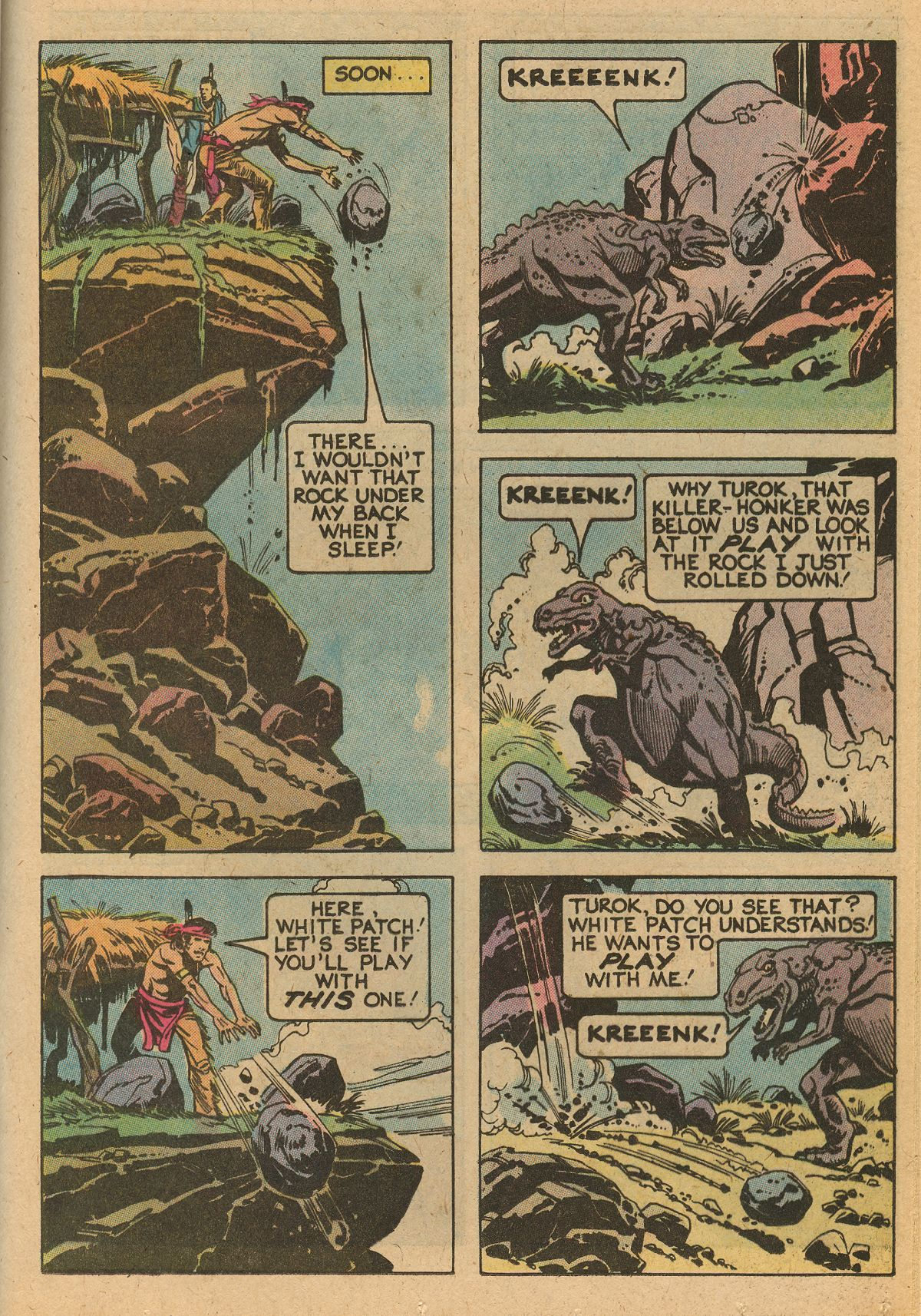 Read online Turok, Son of Stone comic -  Issue #115 - 41