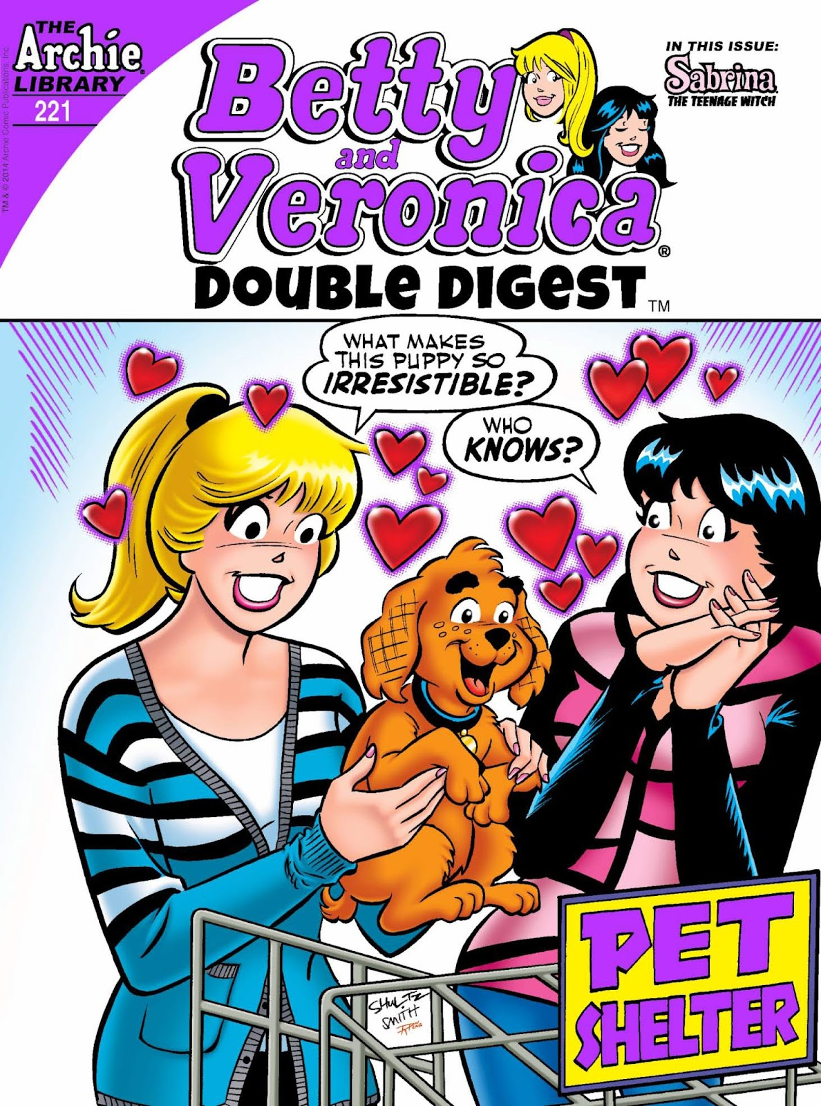 Betty and Veronica Double Digest 221 Page 1