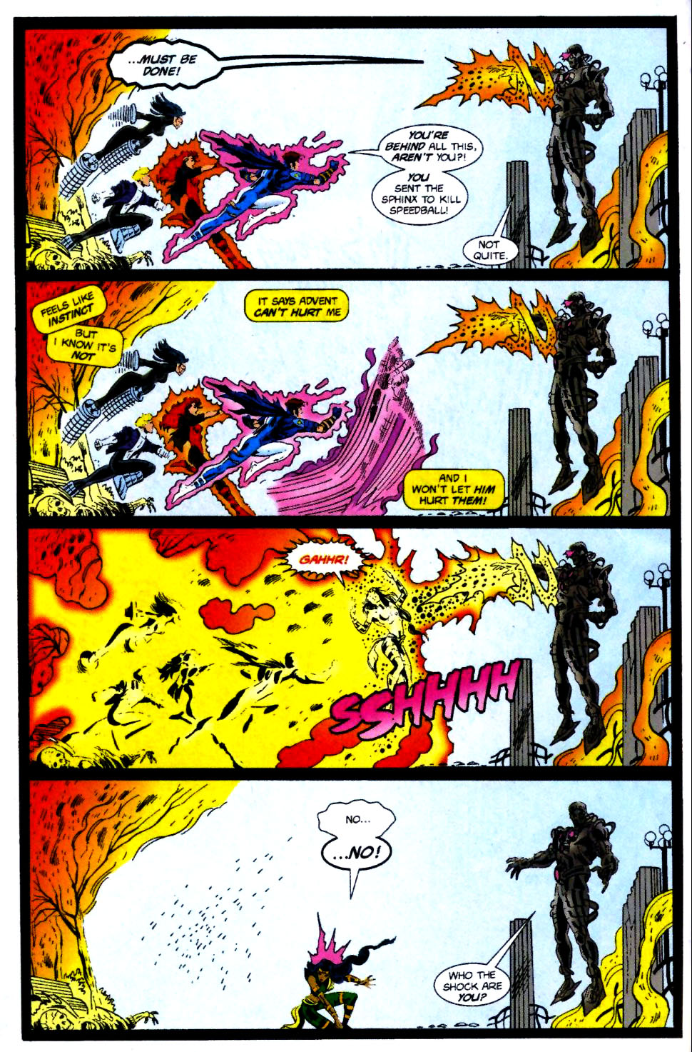 The New Warriors Issue #70 #74 - English 6