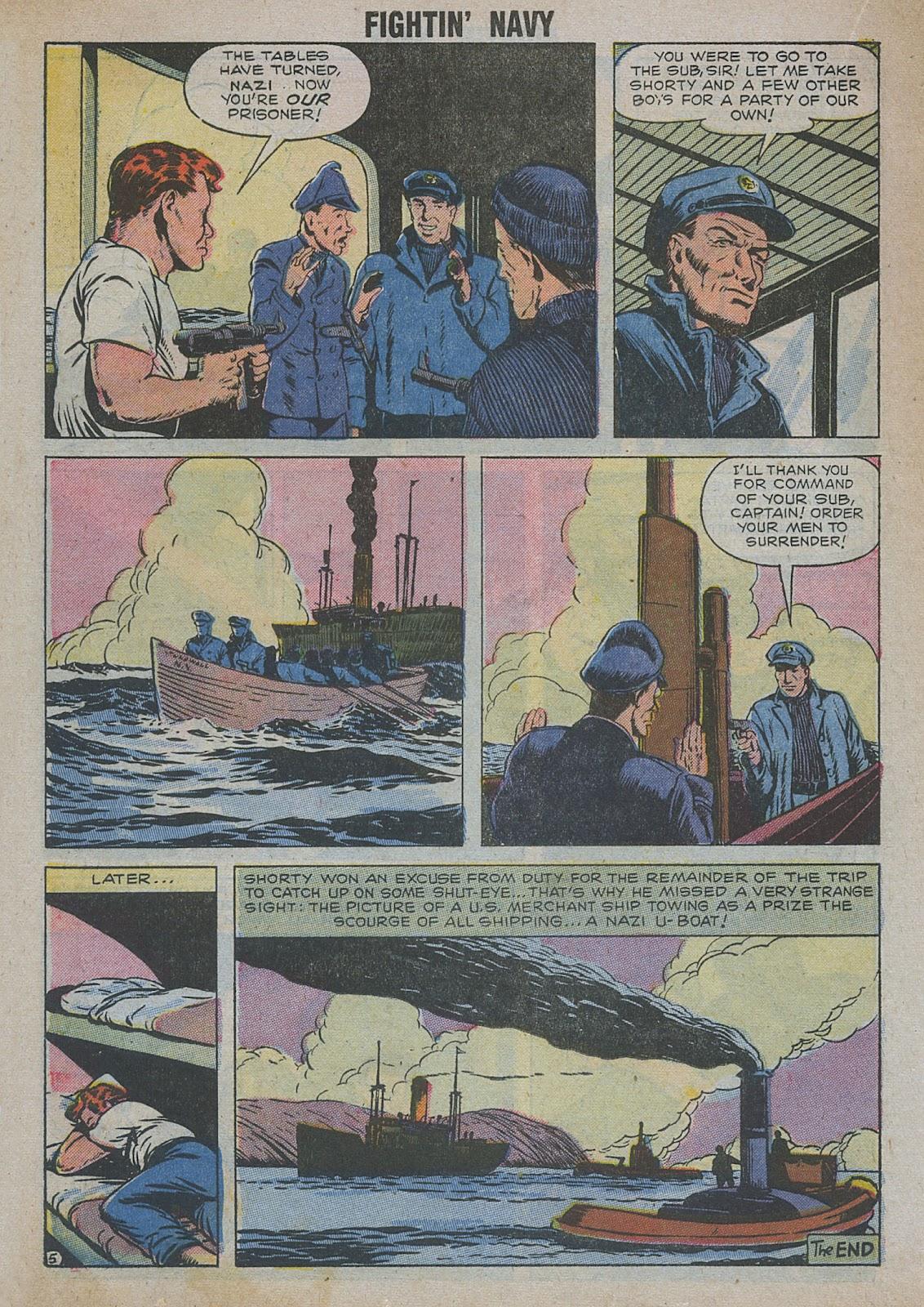 Read online Fightin' Navy comic -  Issue #82 - 26