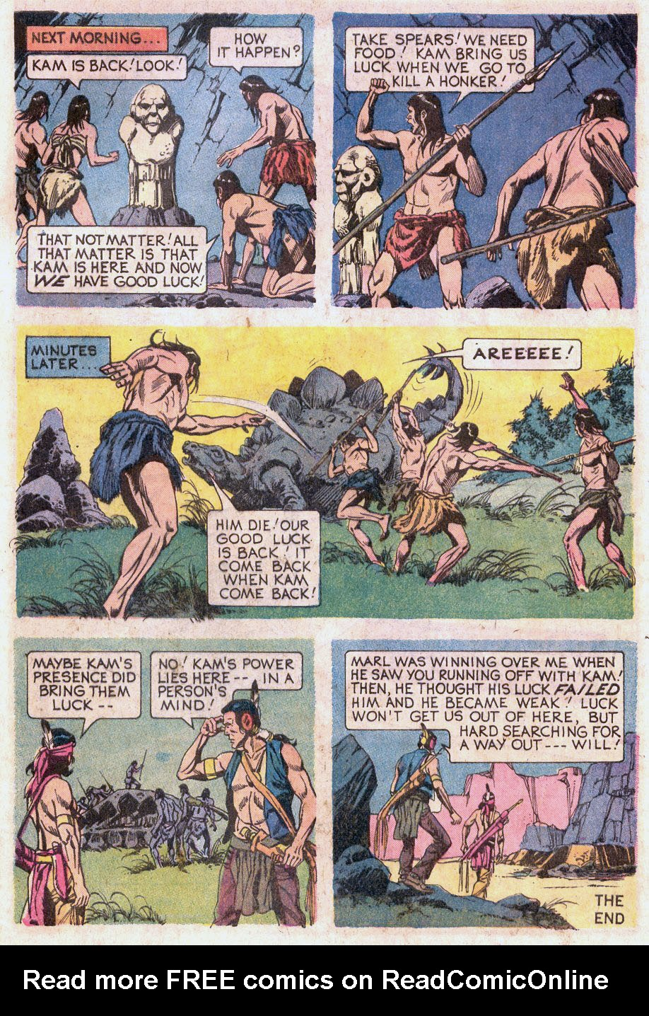 Read online Turok, Son of Stone comic -  Issue #92 - 33