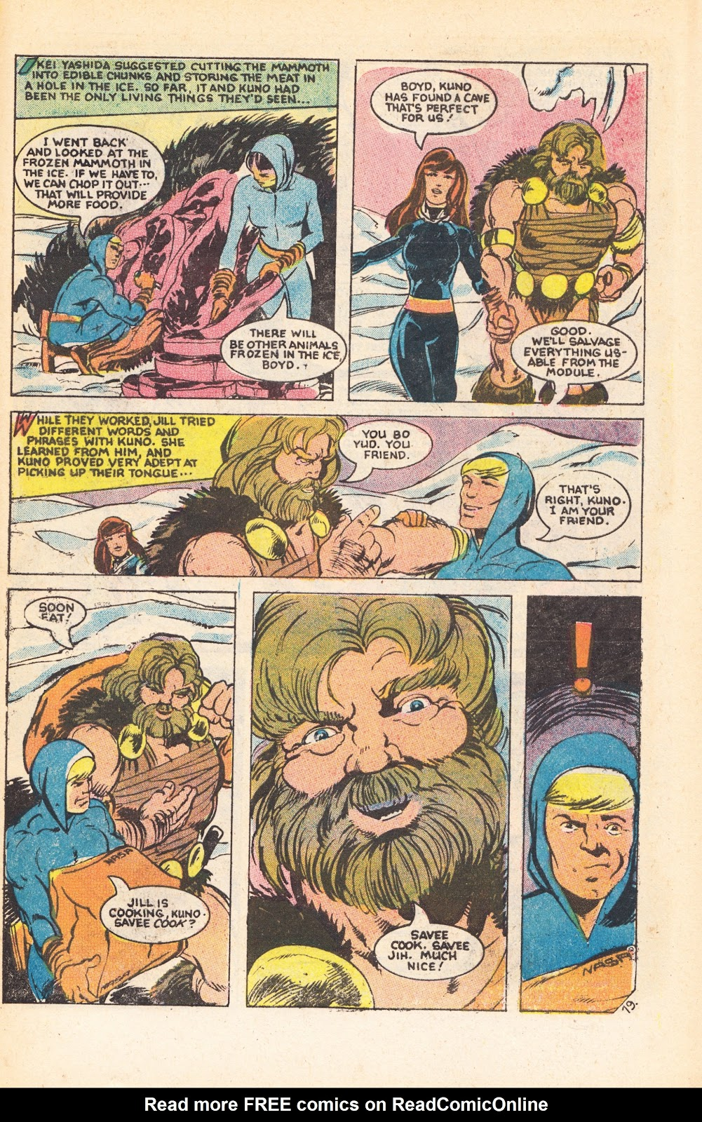 Read online Doomsday   1 (1975) comic -  Issue #7 - 27