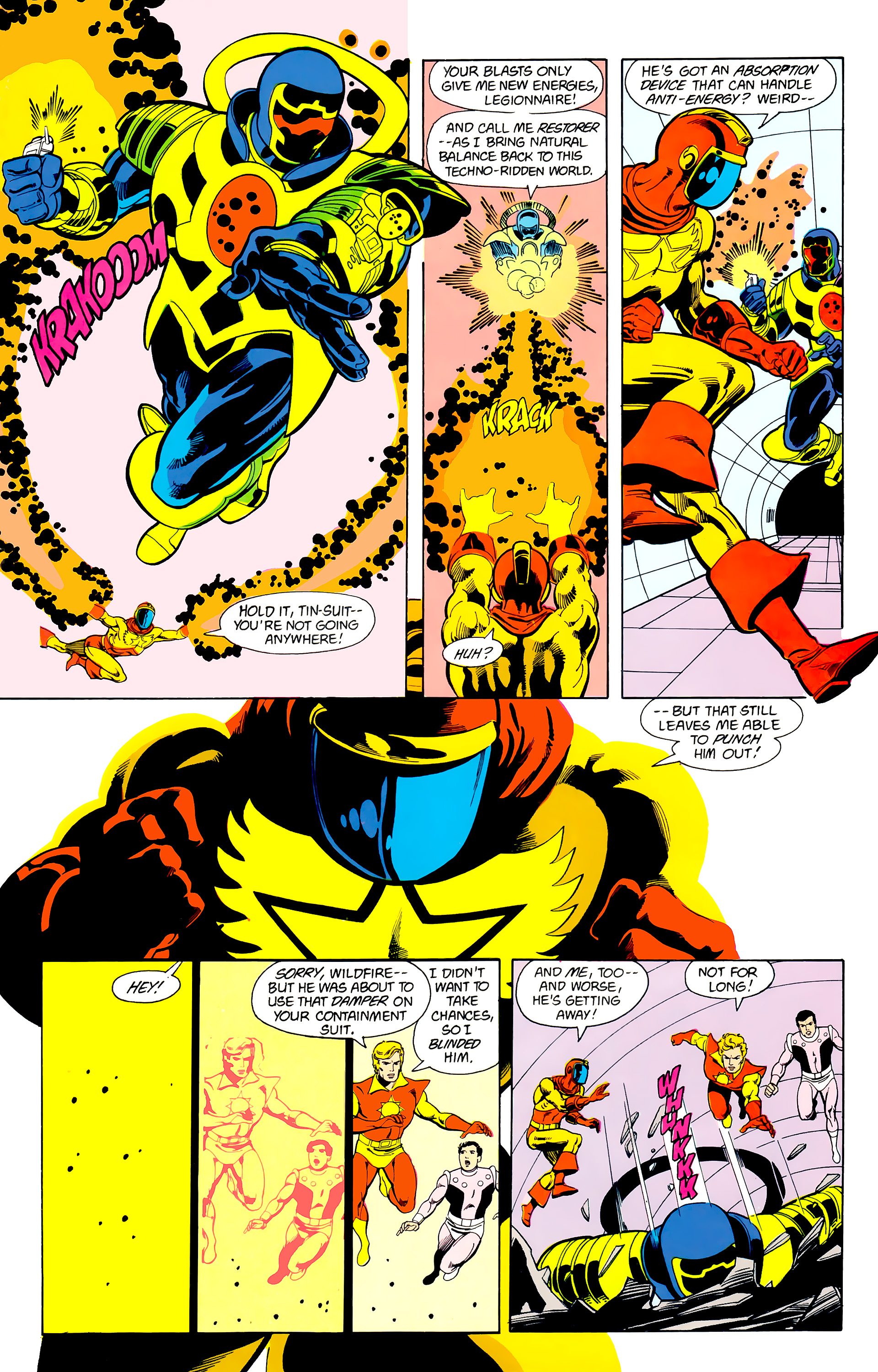 Legion of Super-Heroes (1984) 22 Page 10