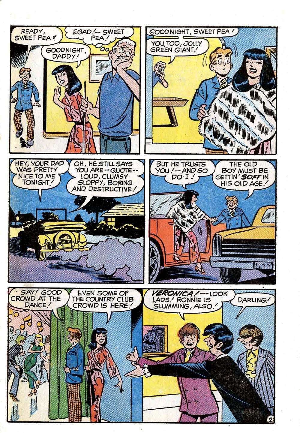 Read online Archie (1960) comic -  Issue #210 - 31