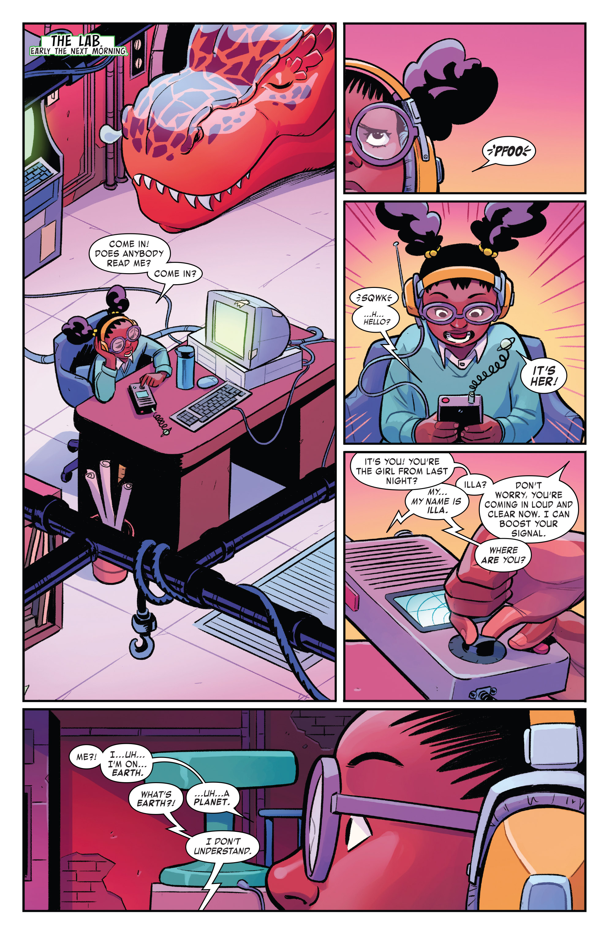 Read online Moon Girl And Devil Dinosaur comic -  Issue #19 - 8