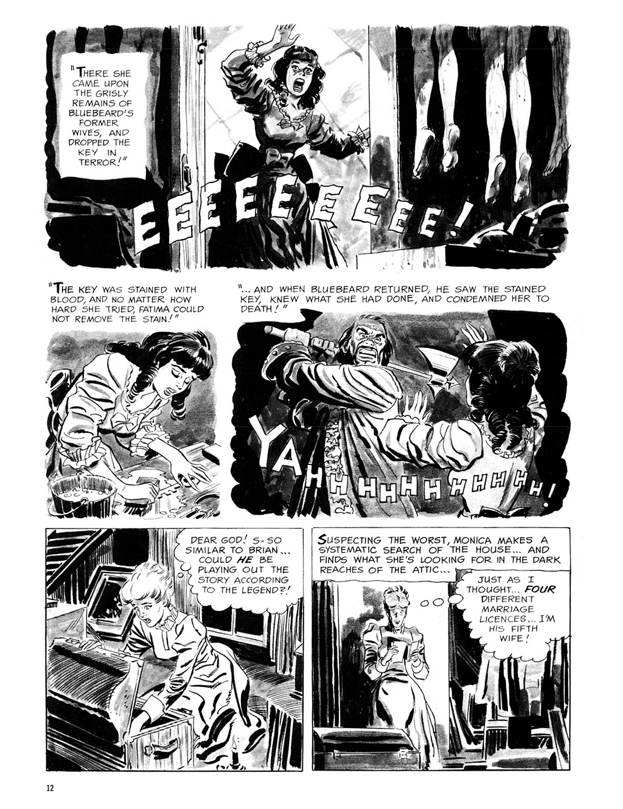 Read online Eerie Archives comic -  Issue # TPB 1 - 13
