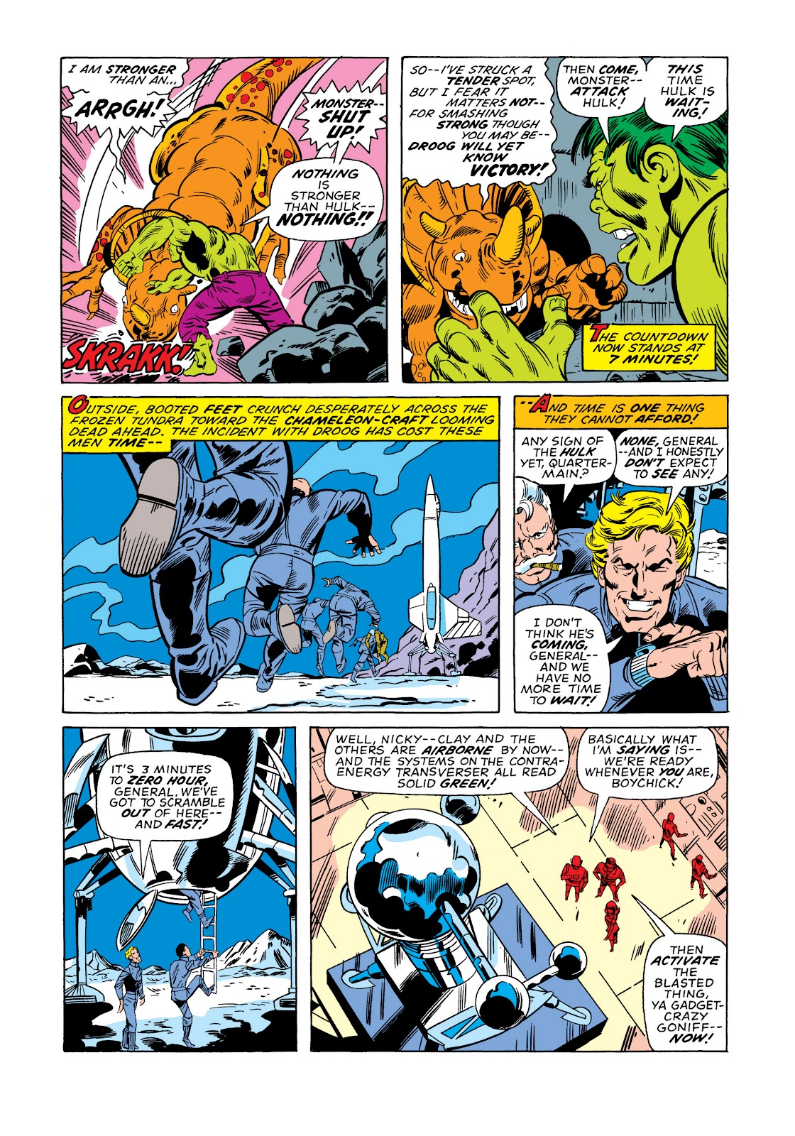 Read online Marvel Masterworks: The Incredible Hulk comic -  Issue # TPB 11 (Part 1) - 98