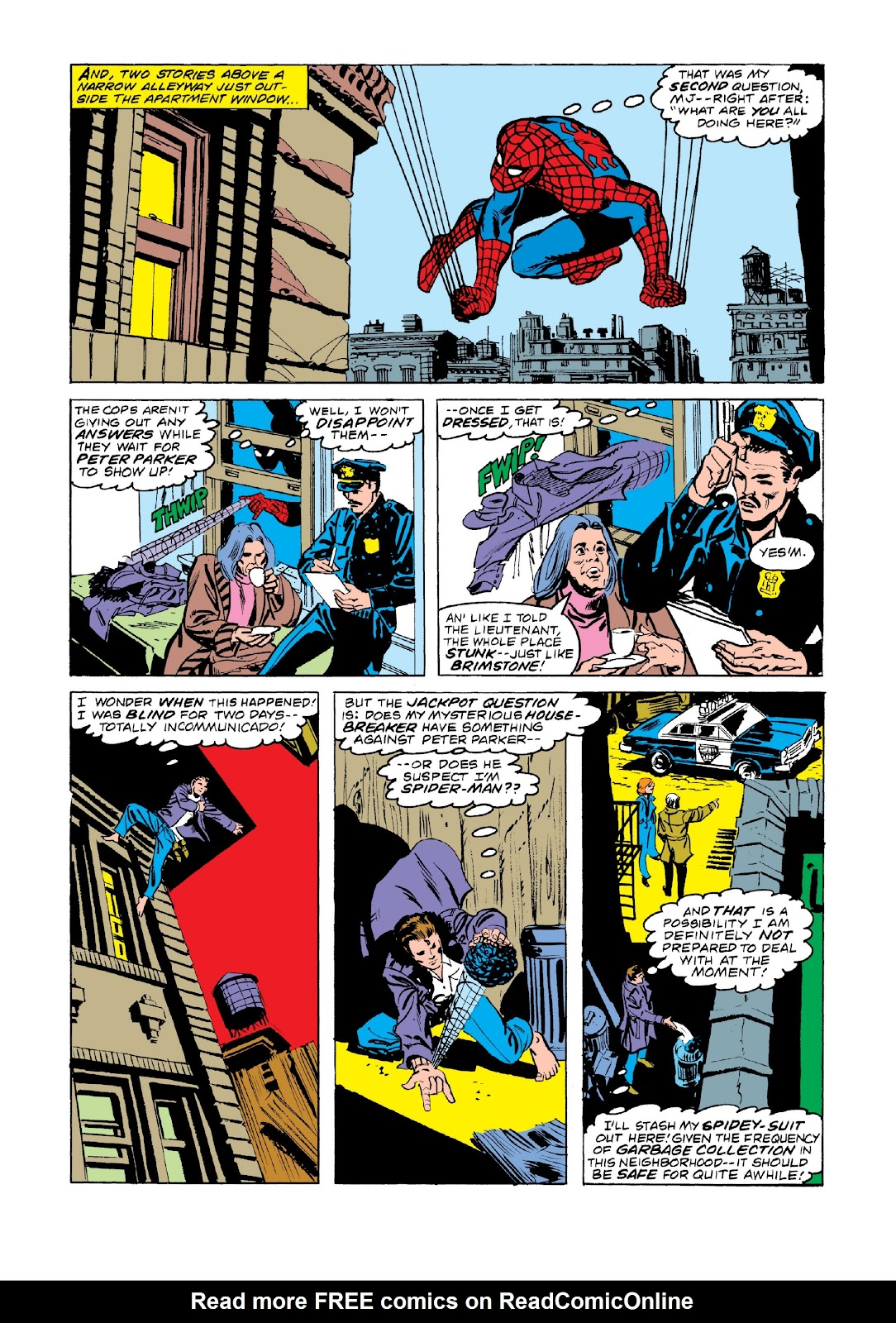 Read online Marvel Masterworks: The Spectacular Spider-Man comic -  Issue # TPB 2 (Part 3) - 38