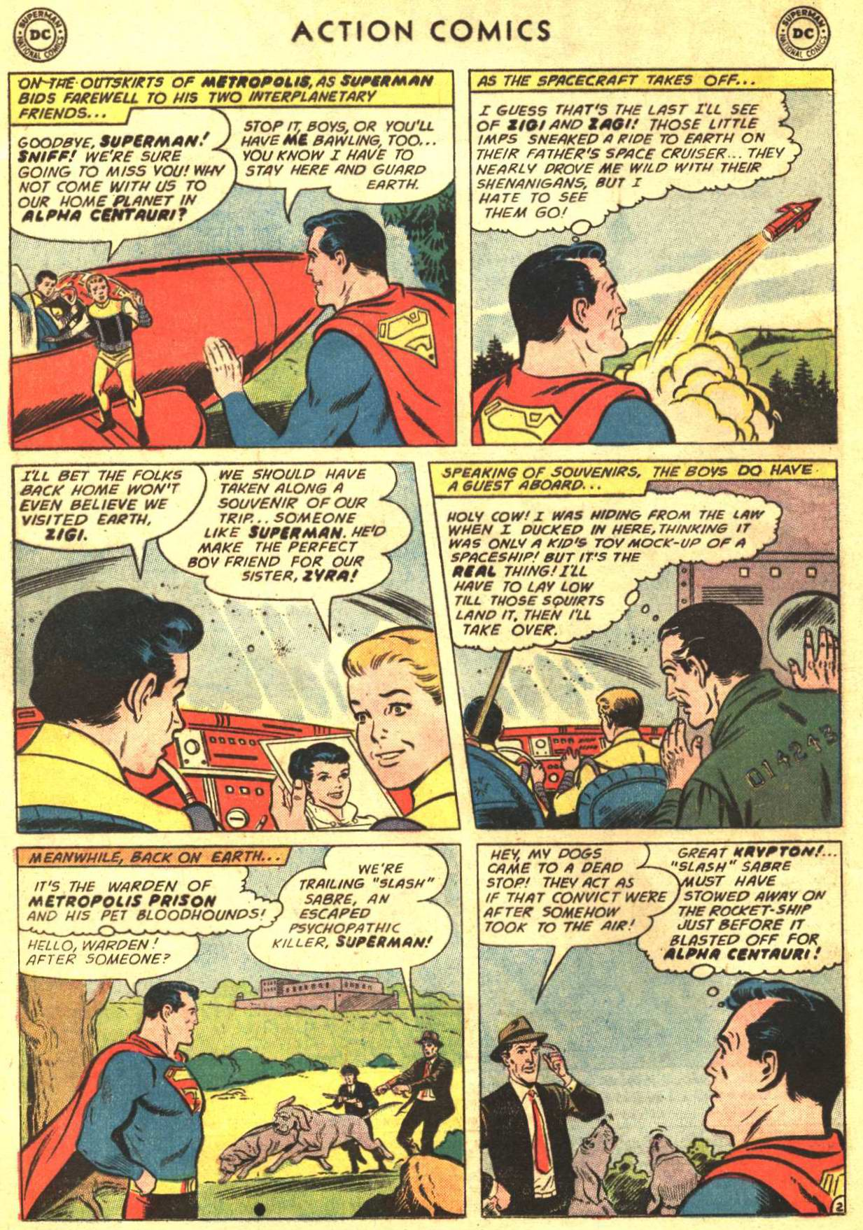 Read online Action Comics (1938) comic -  Issue #316 - 3