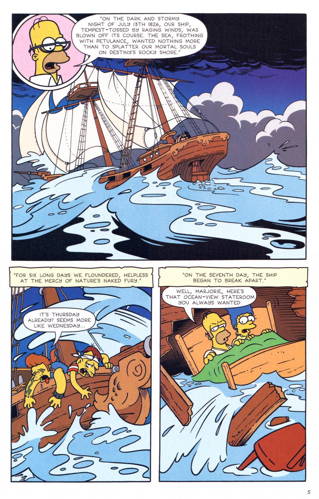 Read online Simpsons Comics comic -  Issue #127 - 6