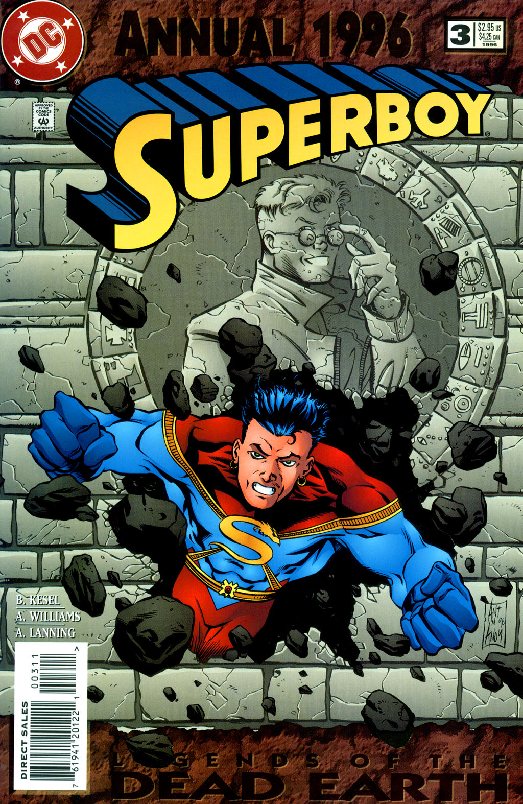 Superboy (1994) _Annual_3 Page 1