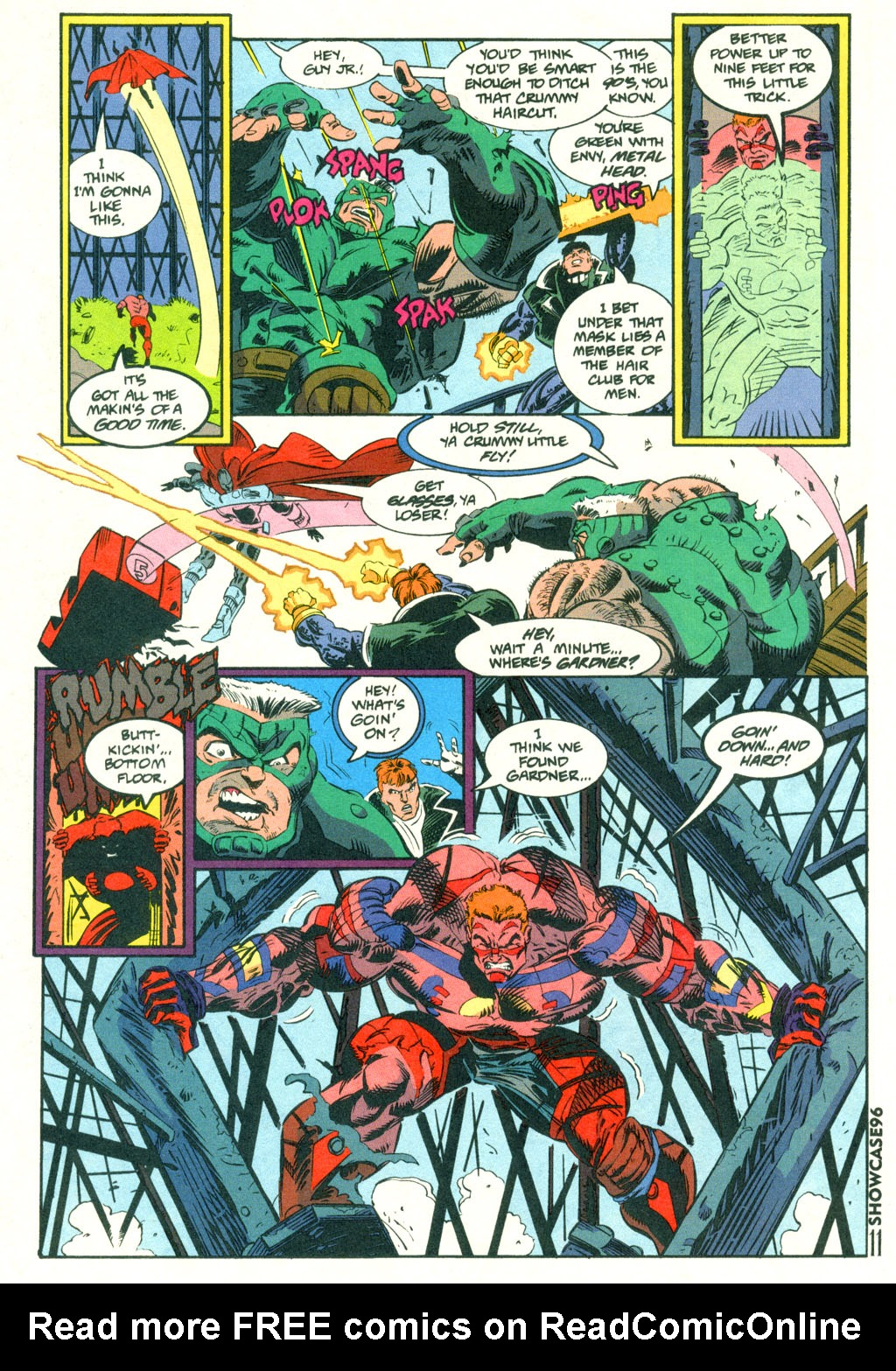Read online Showcase '96 comic -  Issue #2 - 10