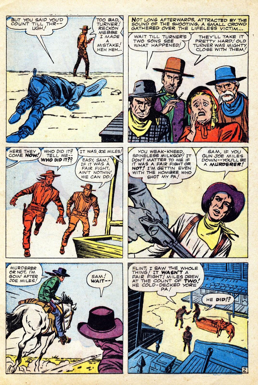 Gunsmoke Western issue 65 - Page 13