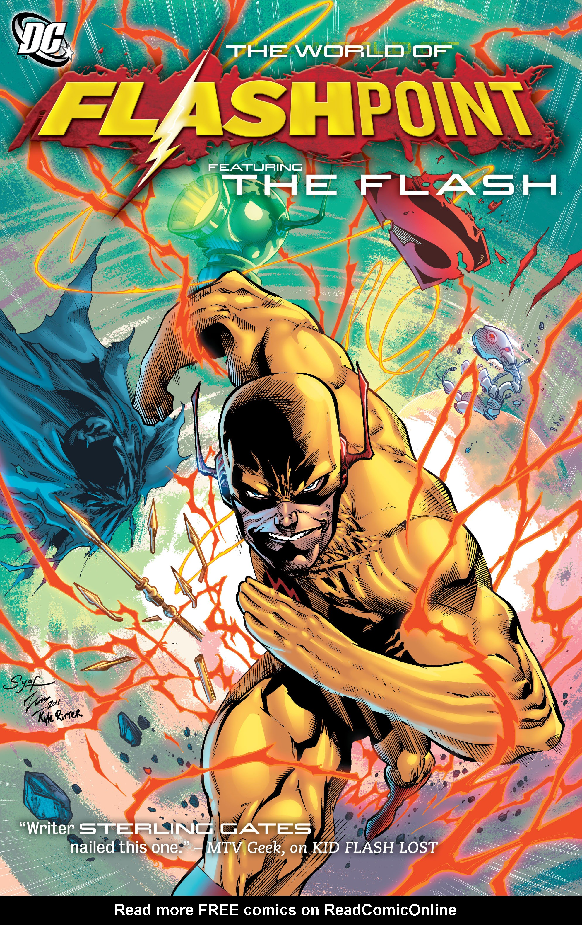 Flashpoint: The World of Flashpoint Featuring The Flash TPB Page 1