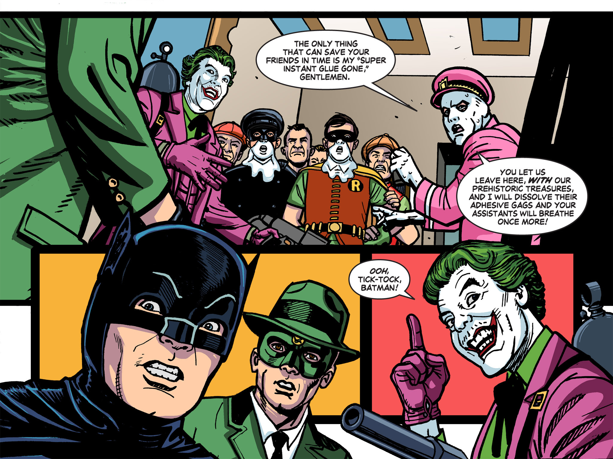 Read online Batman '66 Meets the Green Hornet [II] comic -  Issue #5 - 10