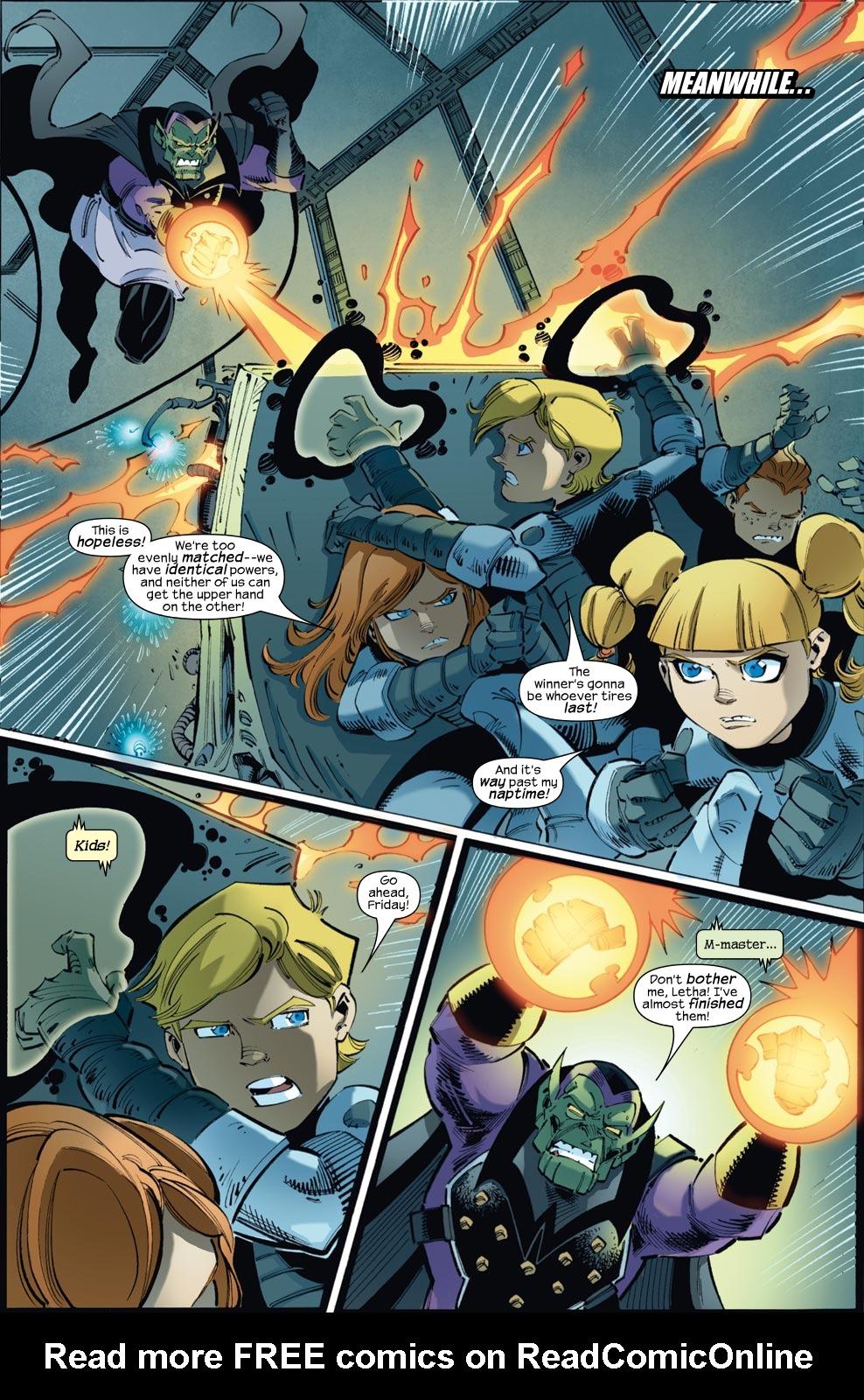 Read online Skrulls vs. Power Pack comic -  Issue #3 - 19