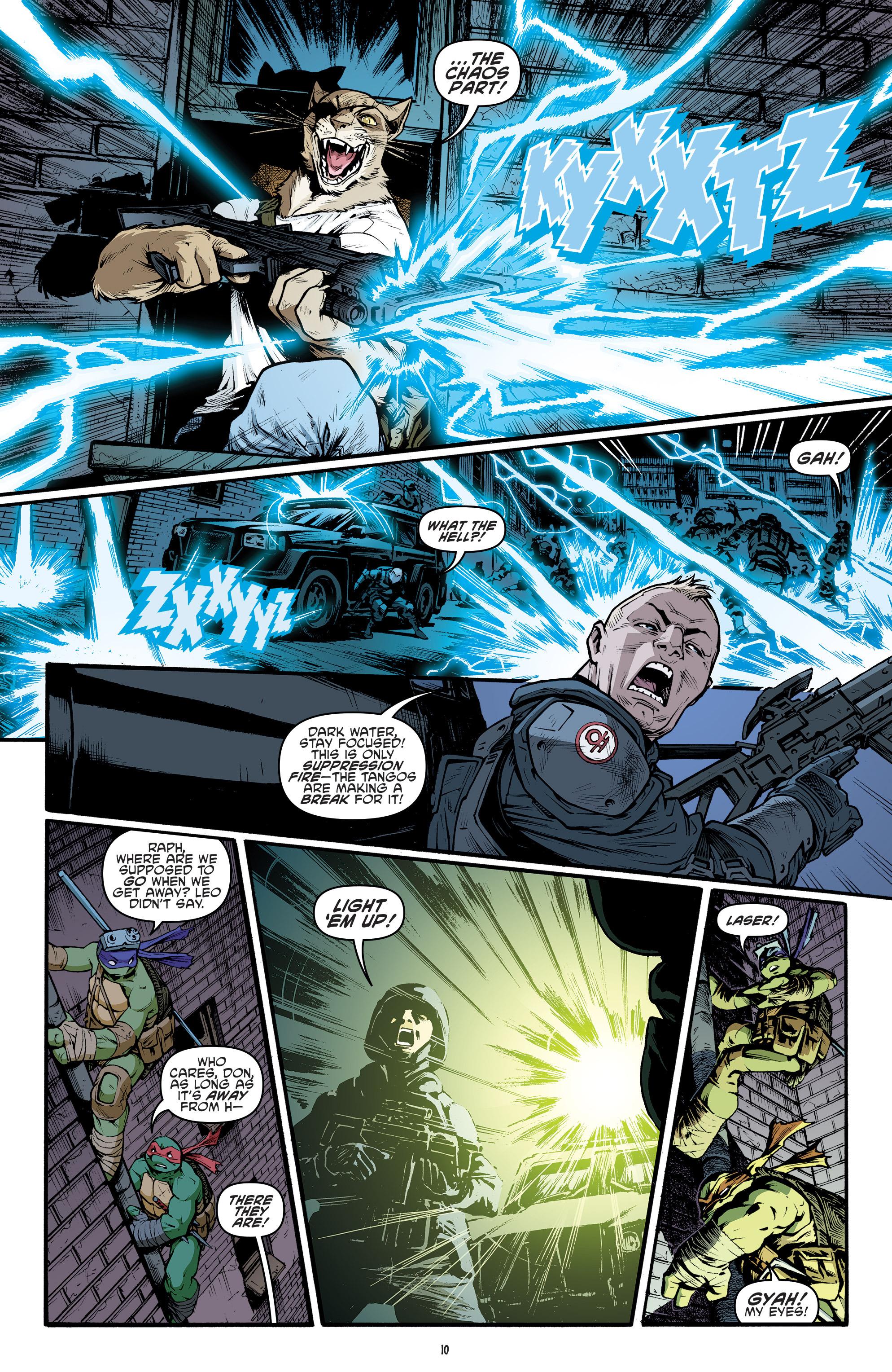 Read online Teenage Mutant Ninja Turtles (2011) comic -  Issue #69 - 12